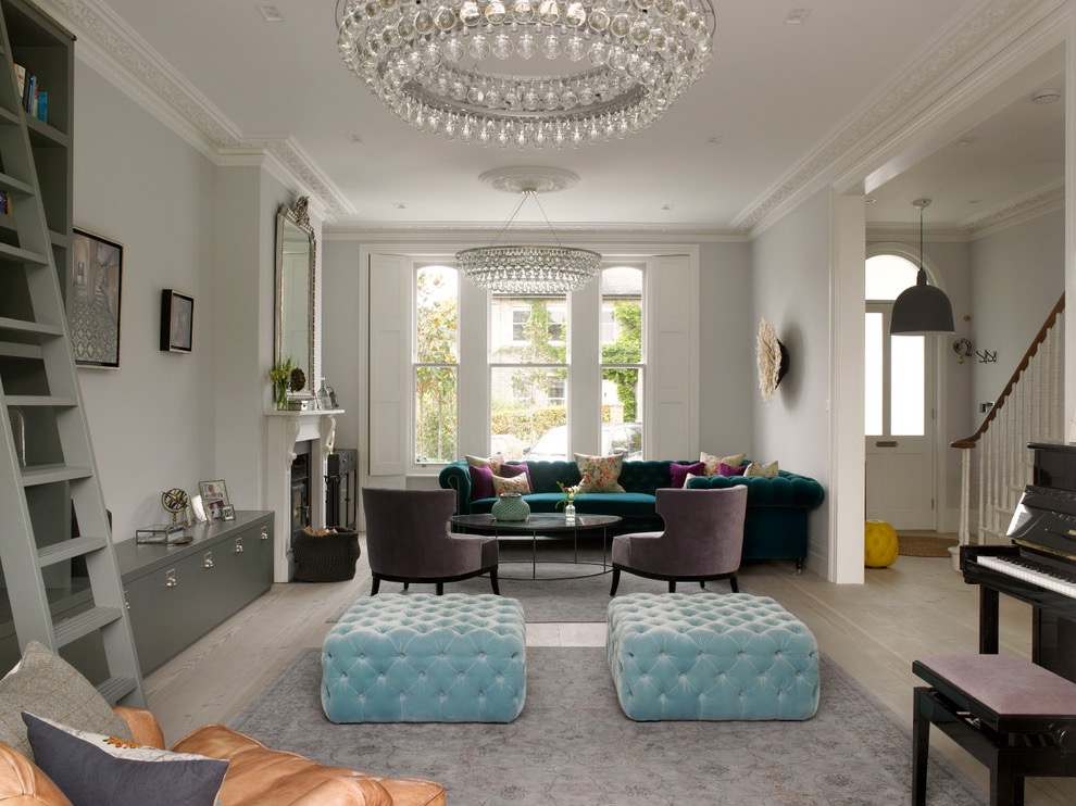 Victorian Crystal Chandelier For Cozy Living Room (Image 18 of 18)