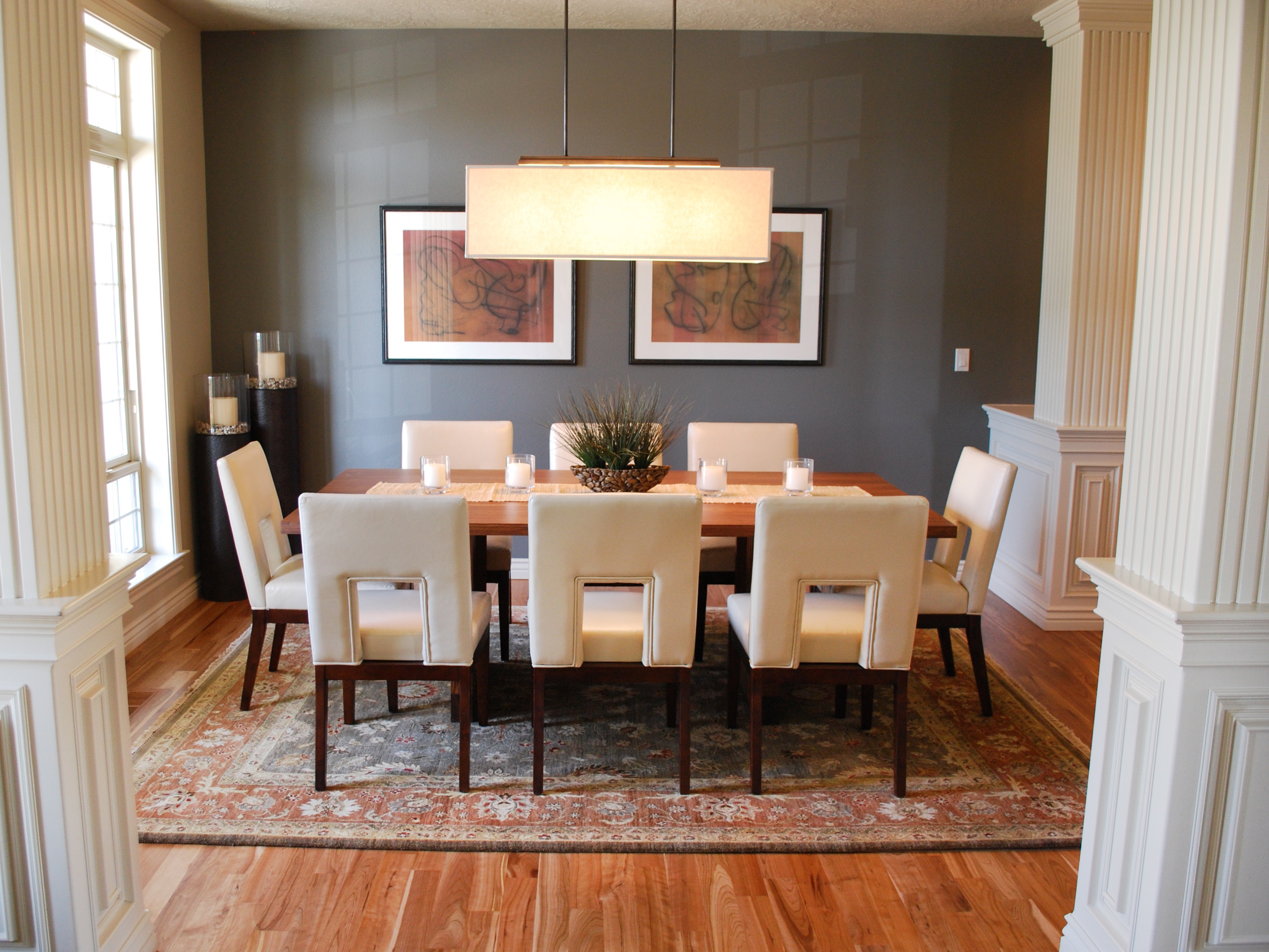 2017 Modern Dining Room With 8 Chairs (Image 1 of 25)