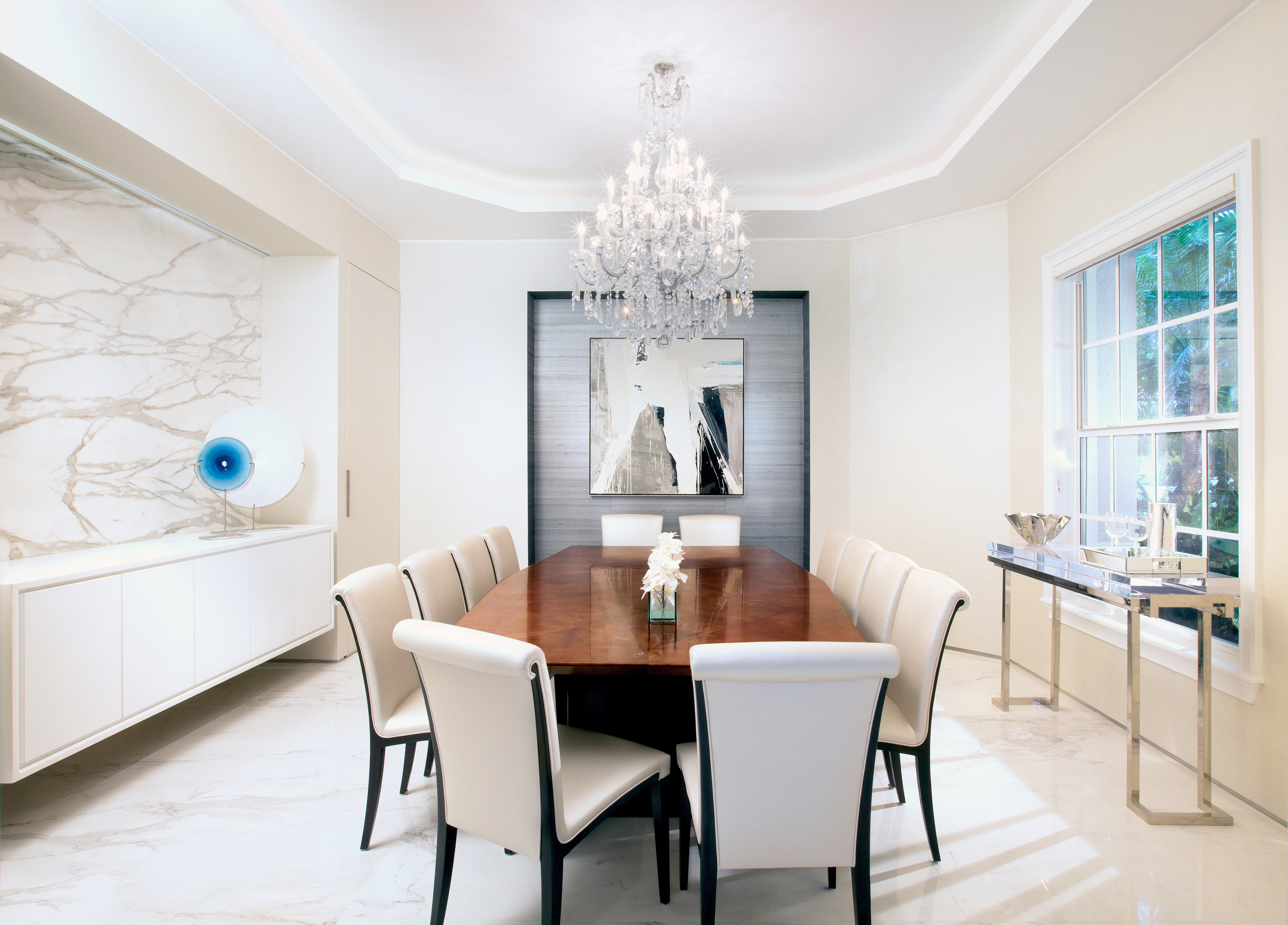 2017 Wonderful Contemporary Dining Room Design (Image 2 of 25)