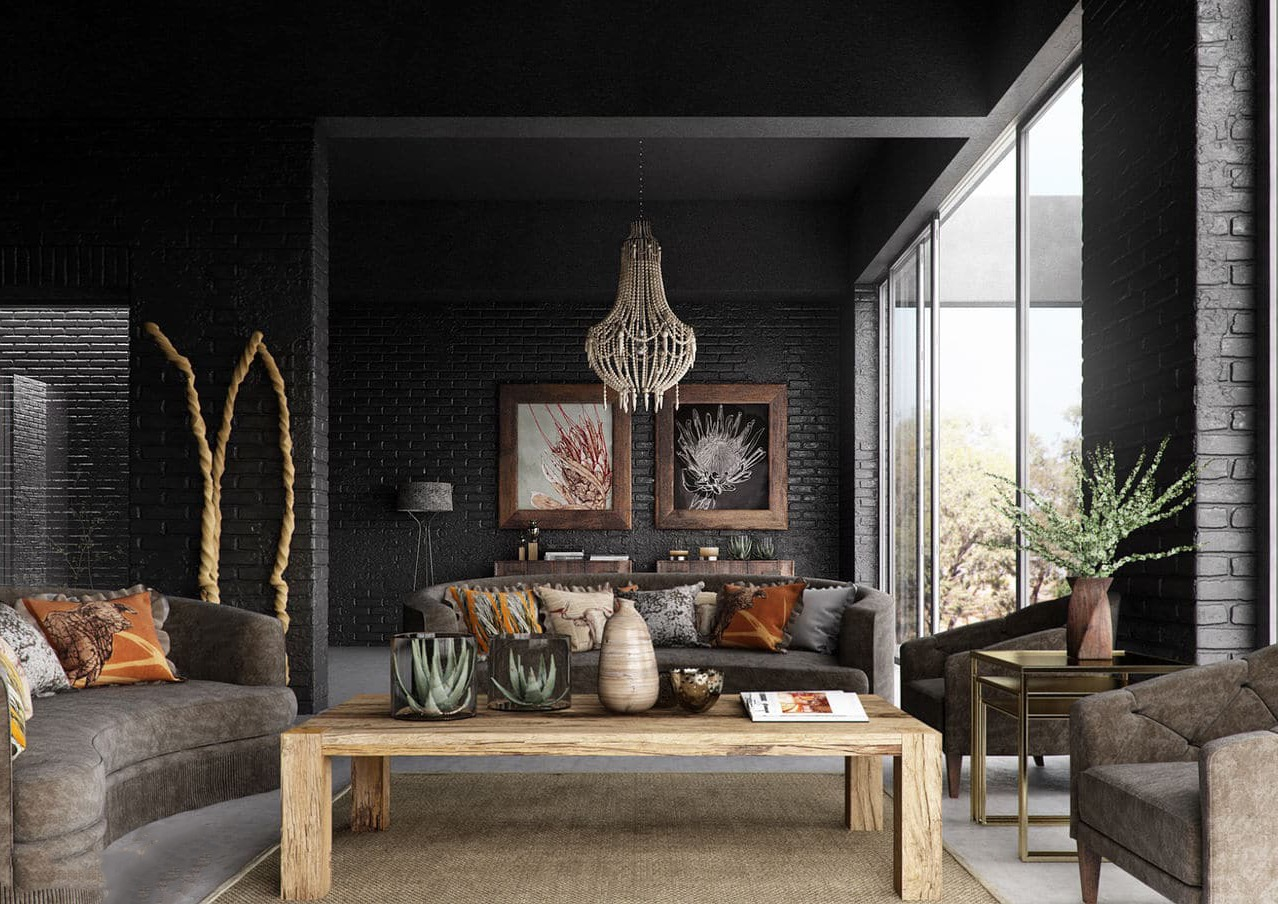 african themed interior for wild decor 17526 interior ideas 17526 | african living interior decor theme