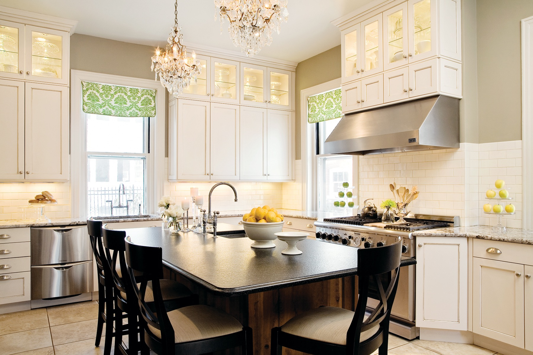 Beautiful Kitchen Crystal Chandelier Lighting (View 4 of 39)
