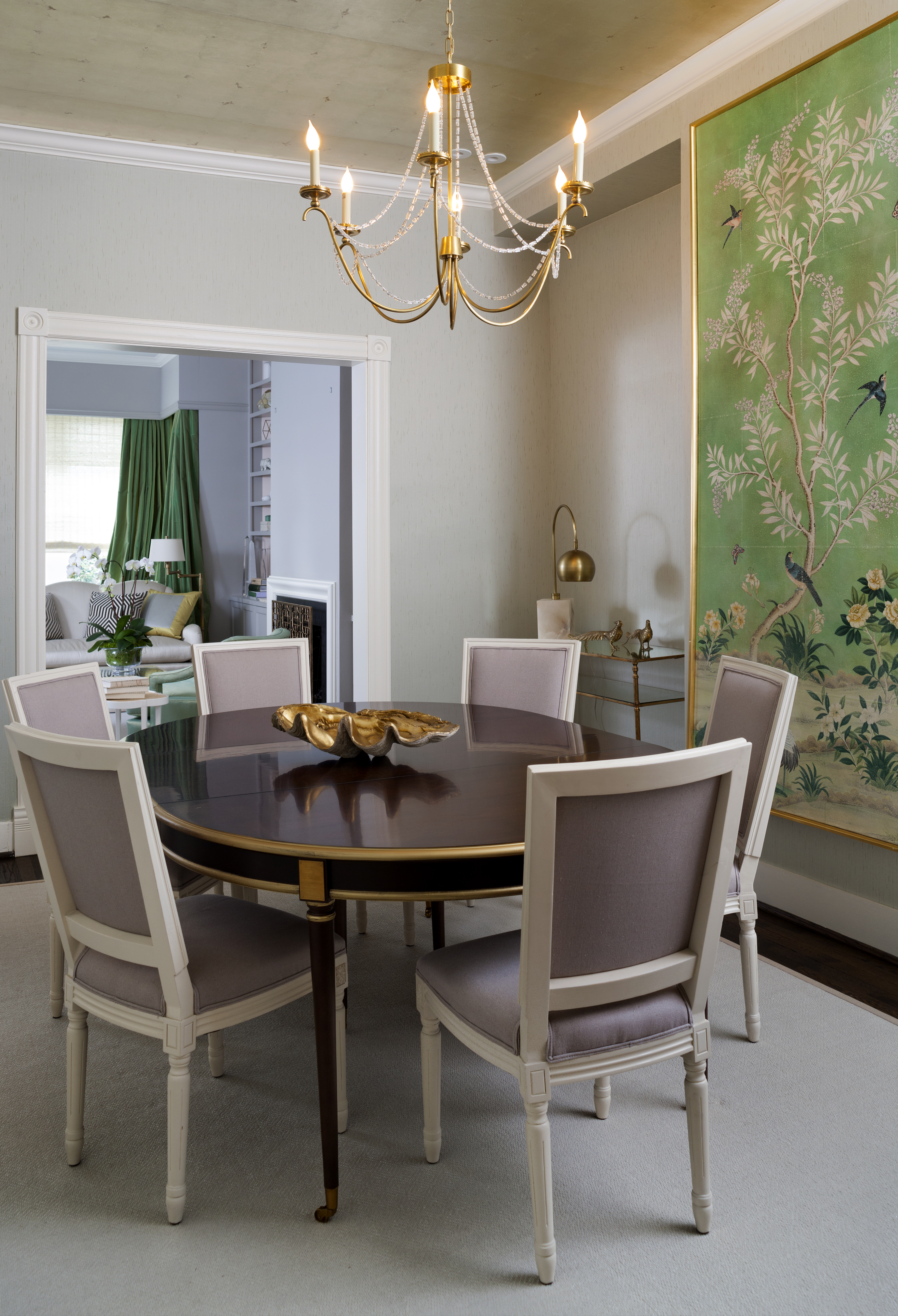 Casual Traditional Dining Room (Image 5 of 25)
