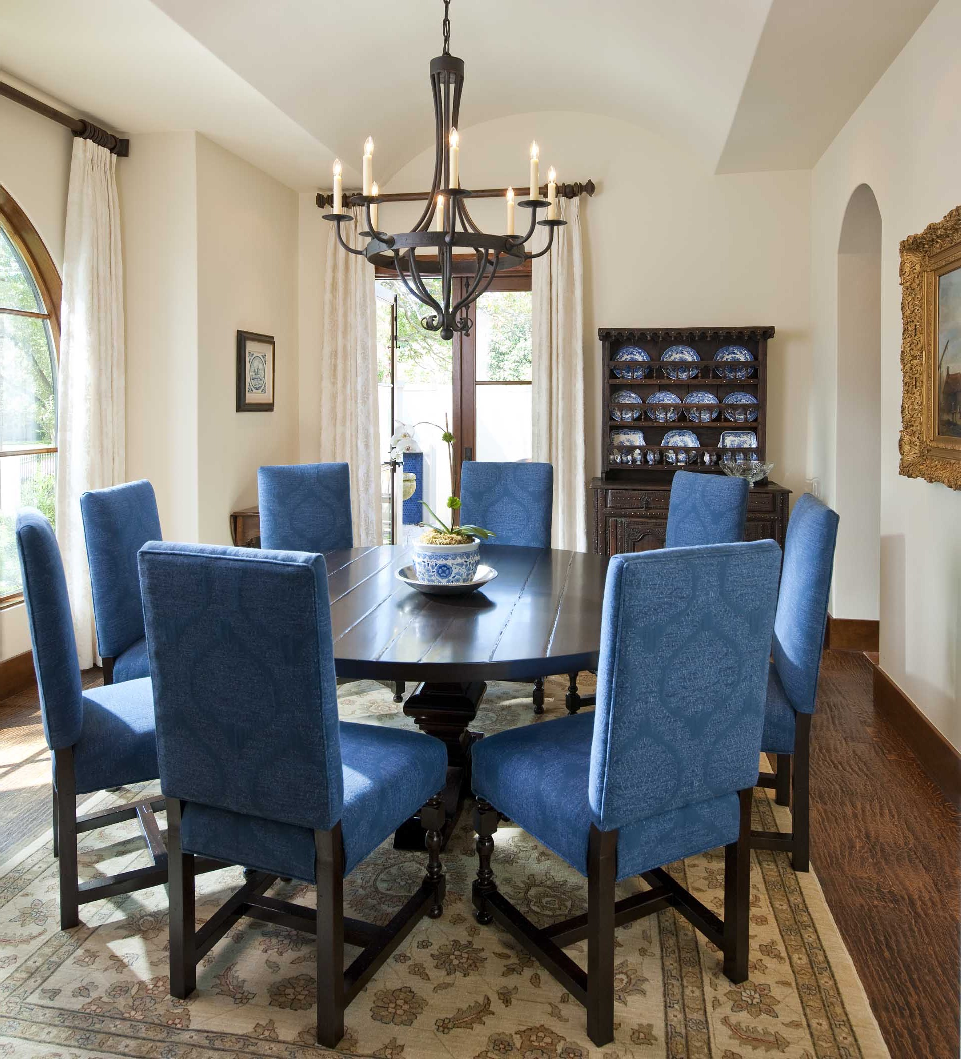 Classic Spanish Dining Room Design Style (View 5 of 11)