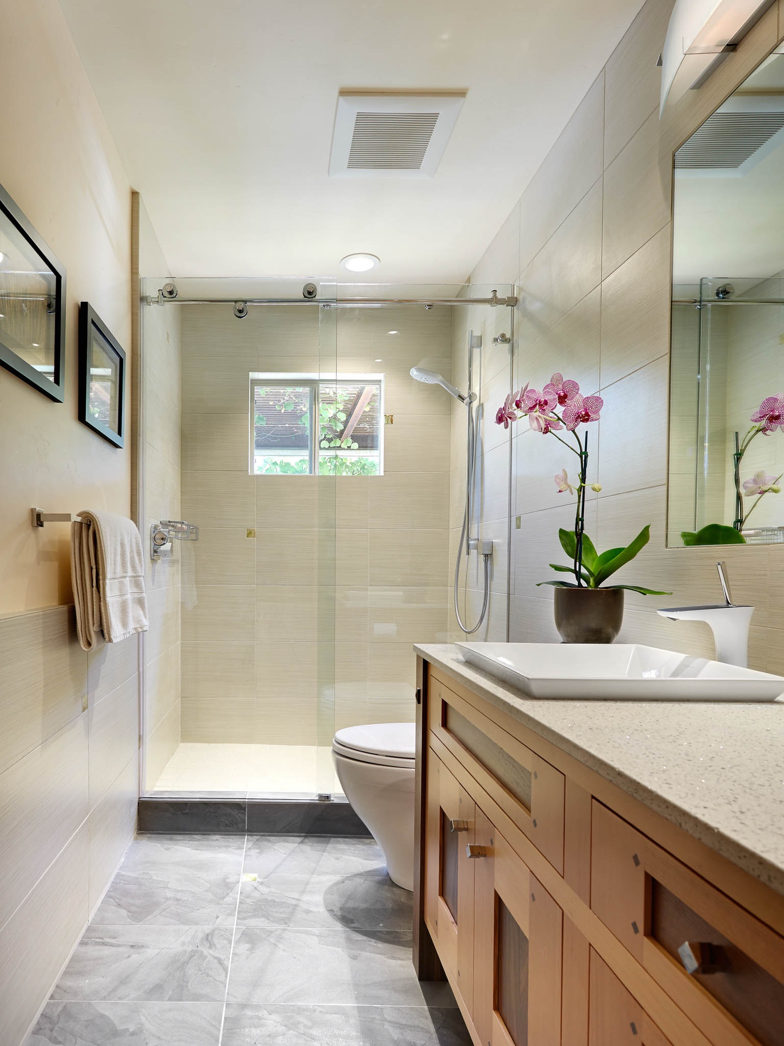 Contemporary Bathroom Renovation (Image 4 of 25)