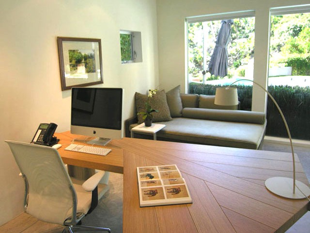 Contemporary Home Office (View 8 of 50)