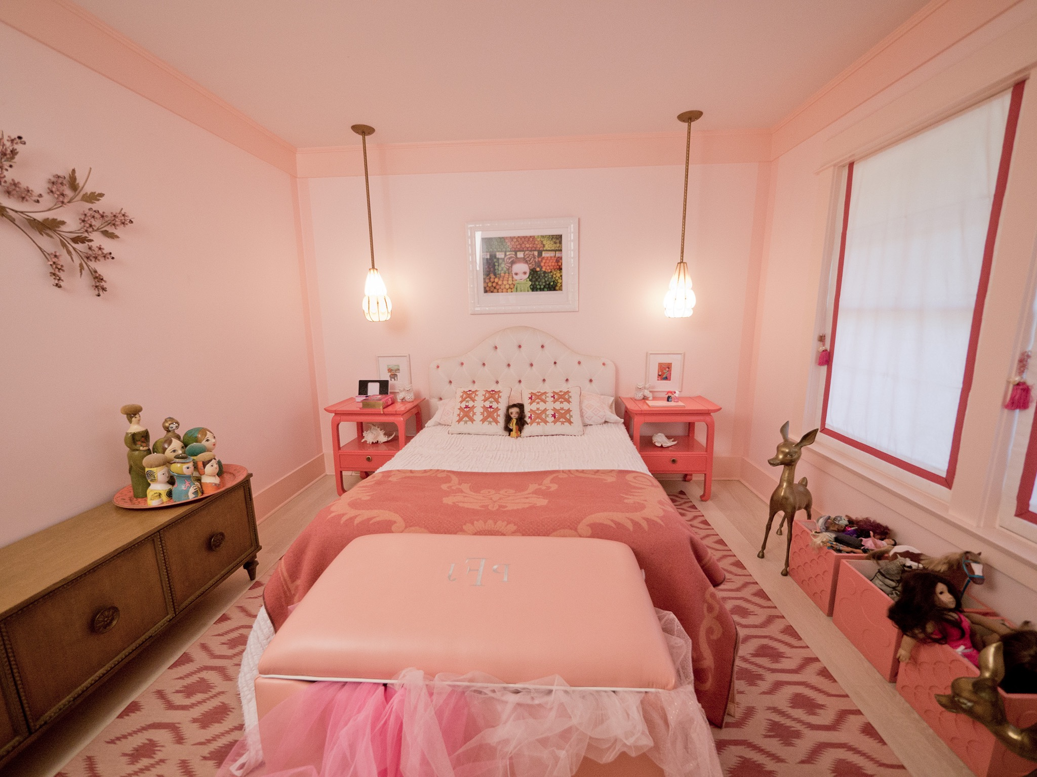 Cute Pink Kids Room For Girls (Image 13 of 30)