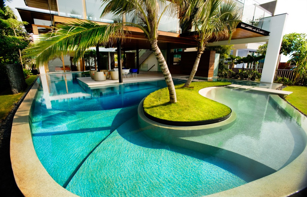 Fantastic Swimming Pool Contemporary Design (Image 7 of 27)