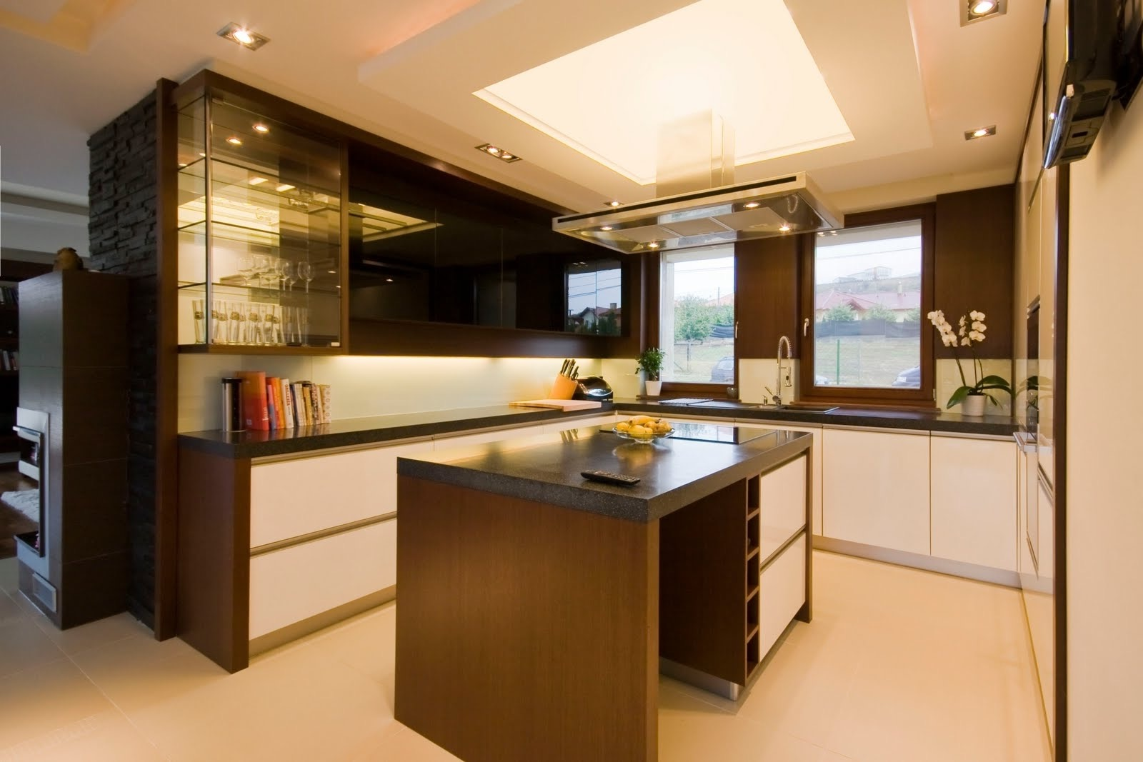 LED Ceiling Lighting For Modern Kitchen (View 24 of 39)