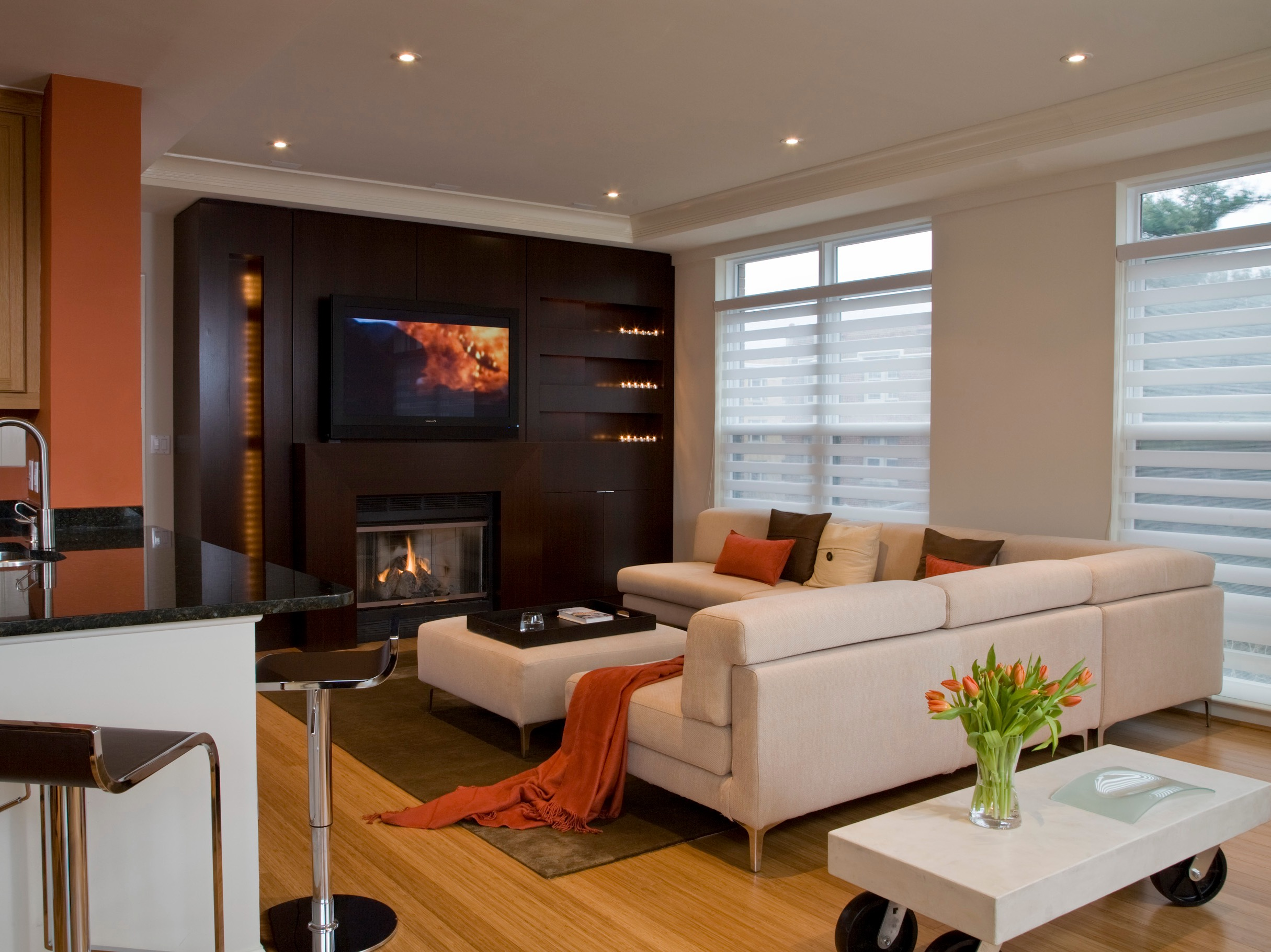 Luxury Living Room With Contemporary Furniture (View 26 of 42)