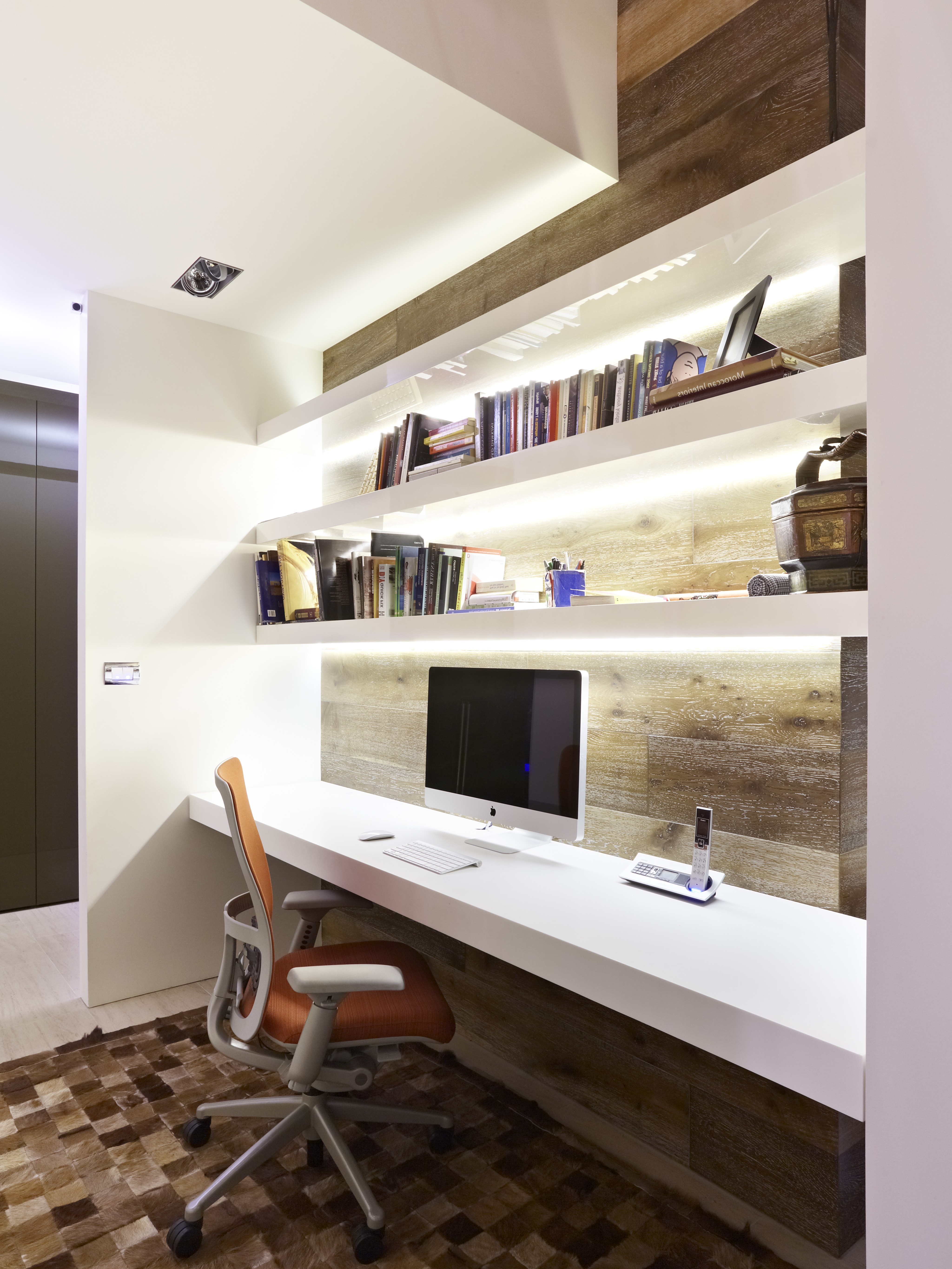 Modern Home Office Nook Flat Design Style (Image 32 of 50)