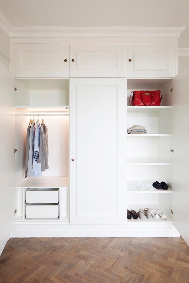 Modern Minimalist White Wardrobe (View 15 of 15)