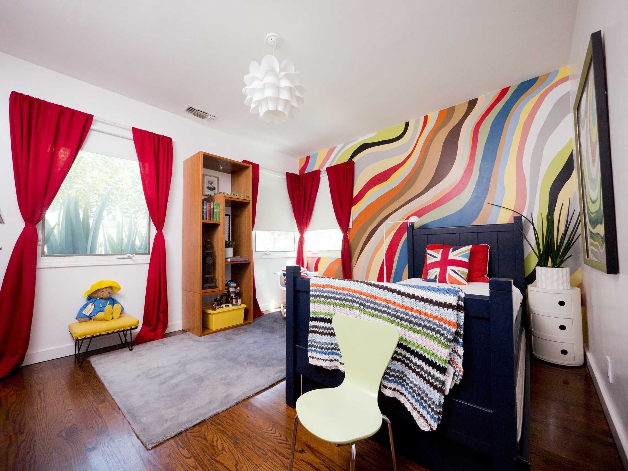Multicolor Kids Room In Contemporary Style (Image 24 of 30)