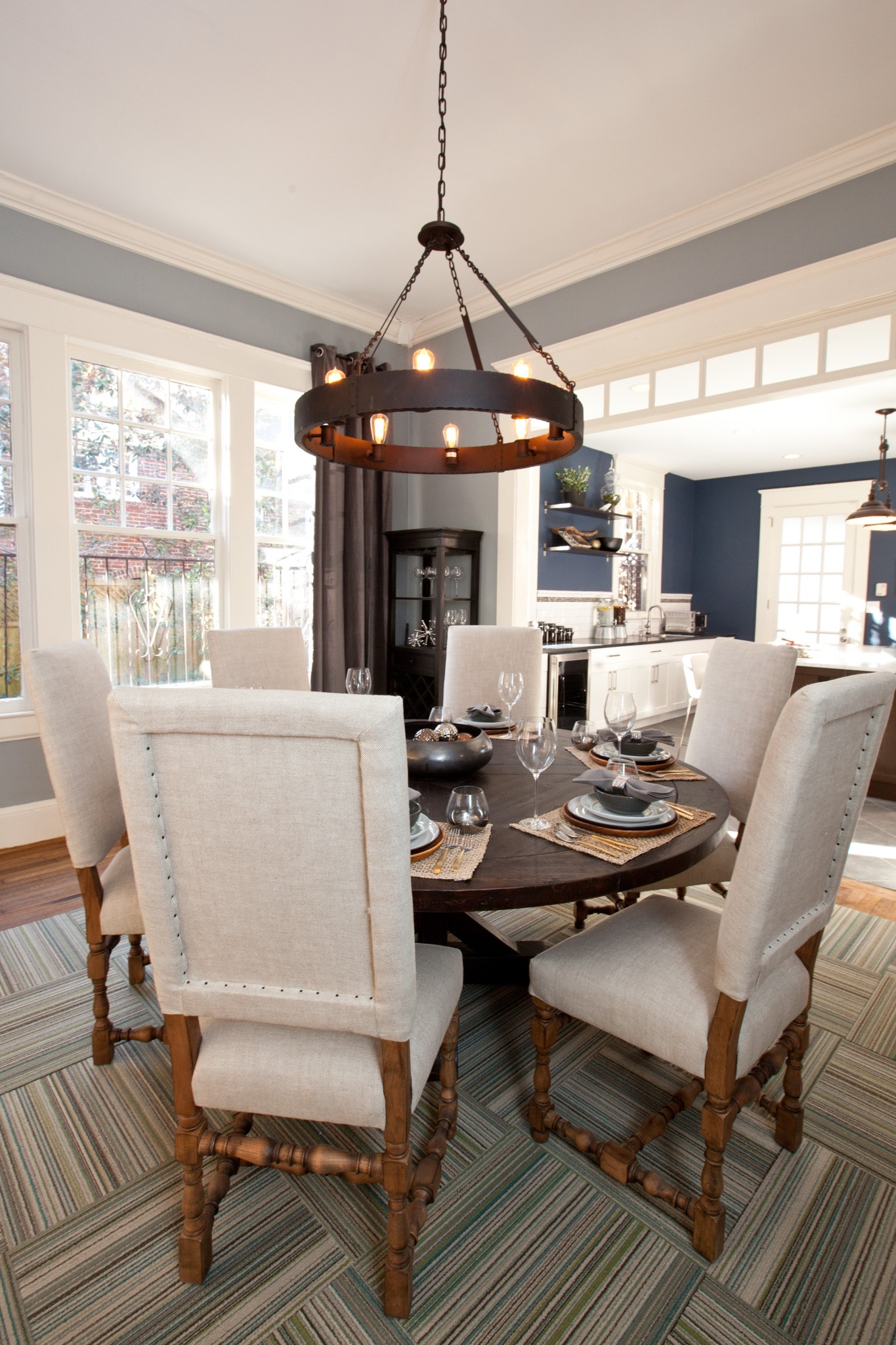 Open Concept Dining Room In Modern Design (Image 22 of 25)