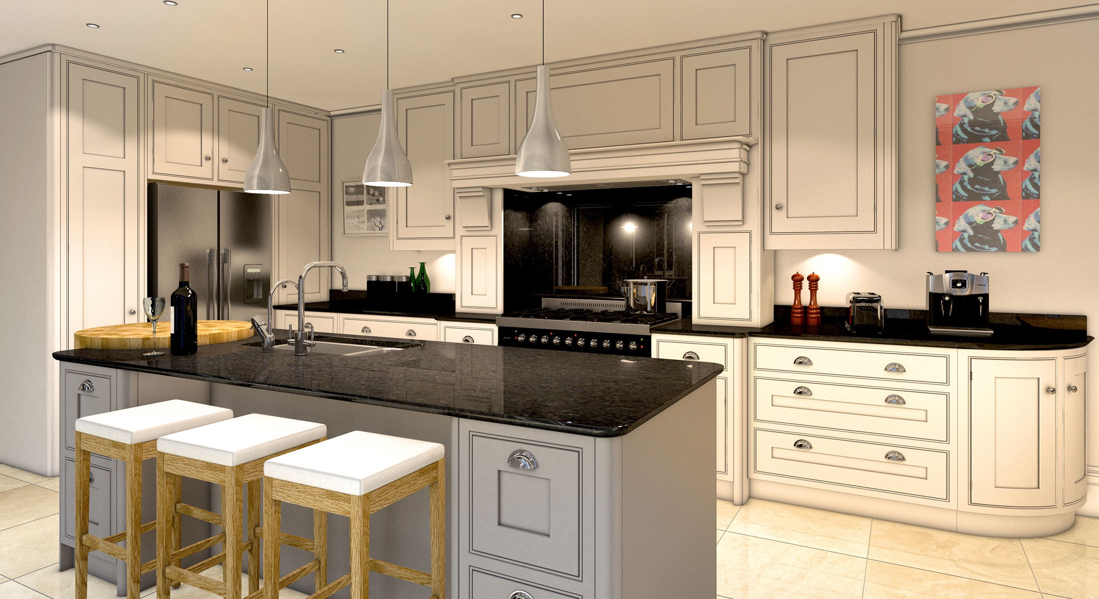 Popular Kitchen Chandelier Lighting For Luxury Nuance (View 35 of 39)