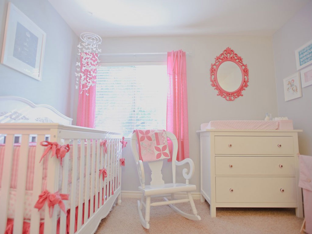 Traditional Baby Room Remodel In Pink Theme (Image 32 of 33)