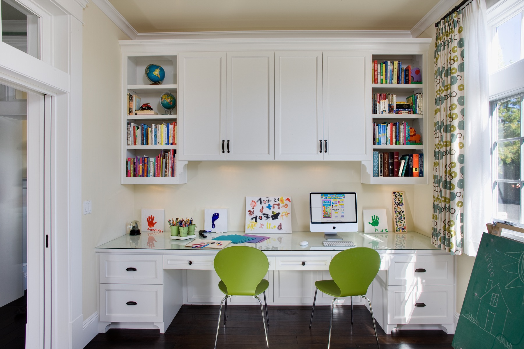 Traditional Home Office Remodel With Contemporary Accents (Image 47 of 50)