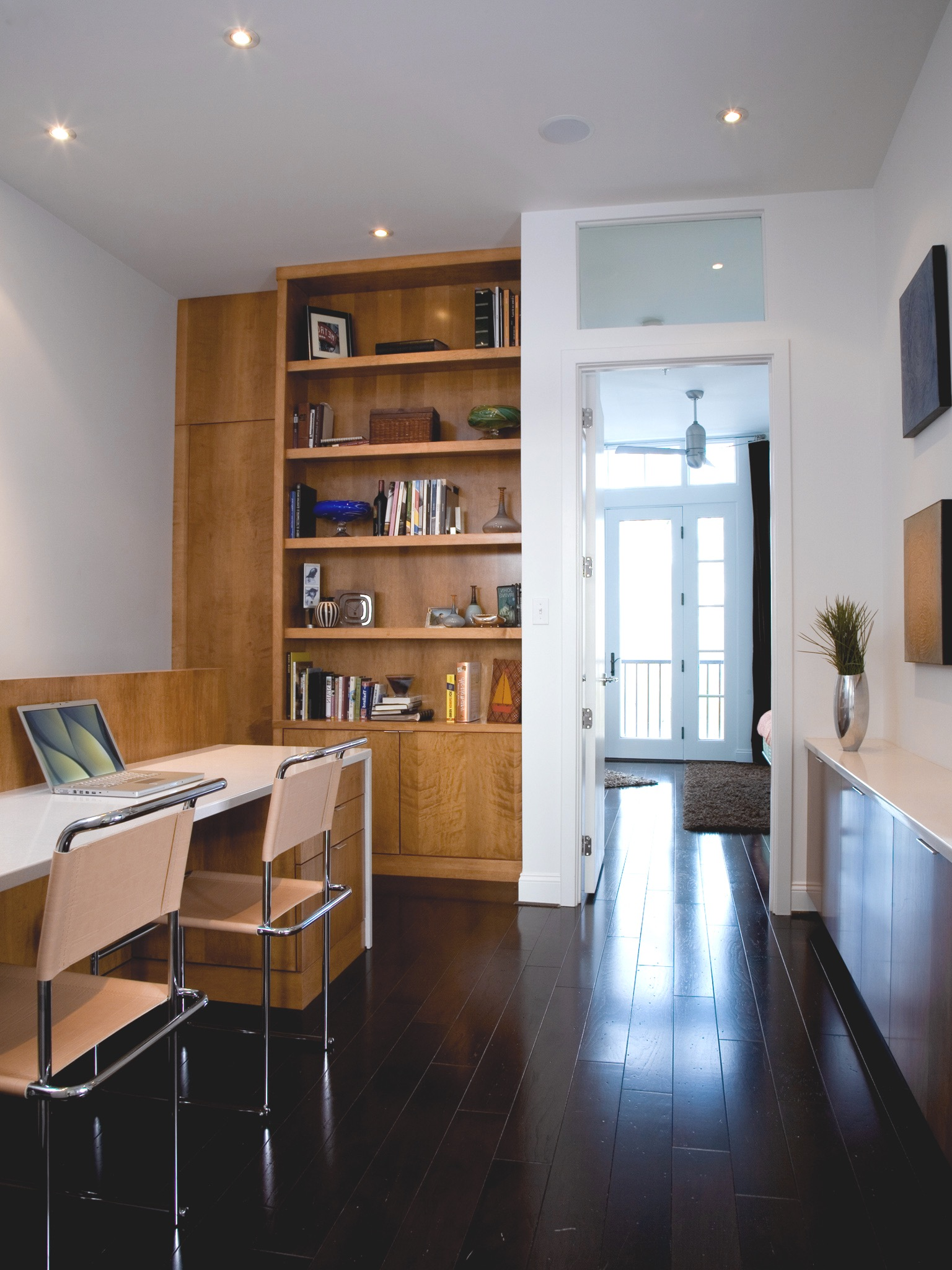 Two Person Home Office Workspace In Modern Design (Image 17 of 17)