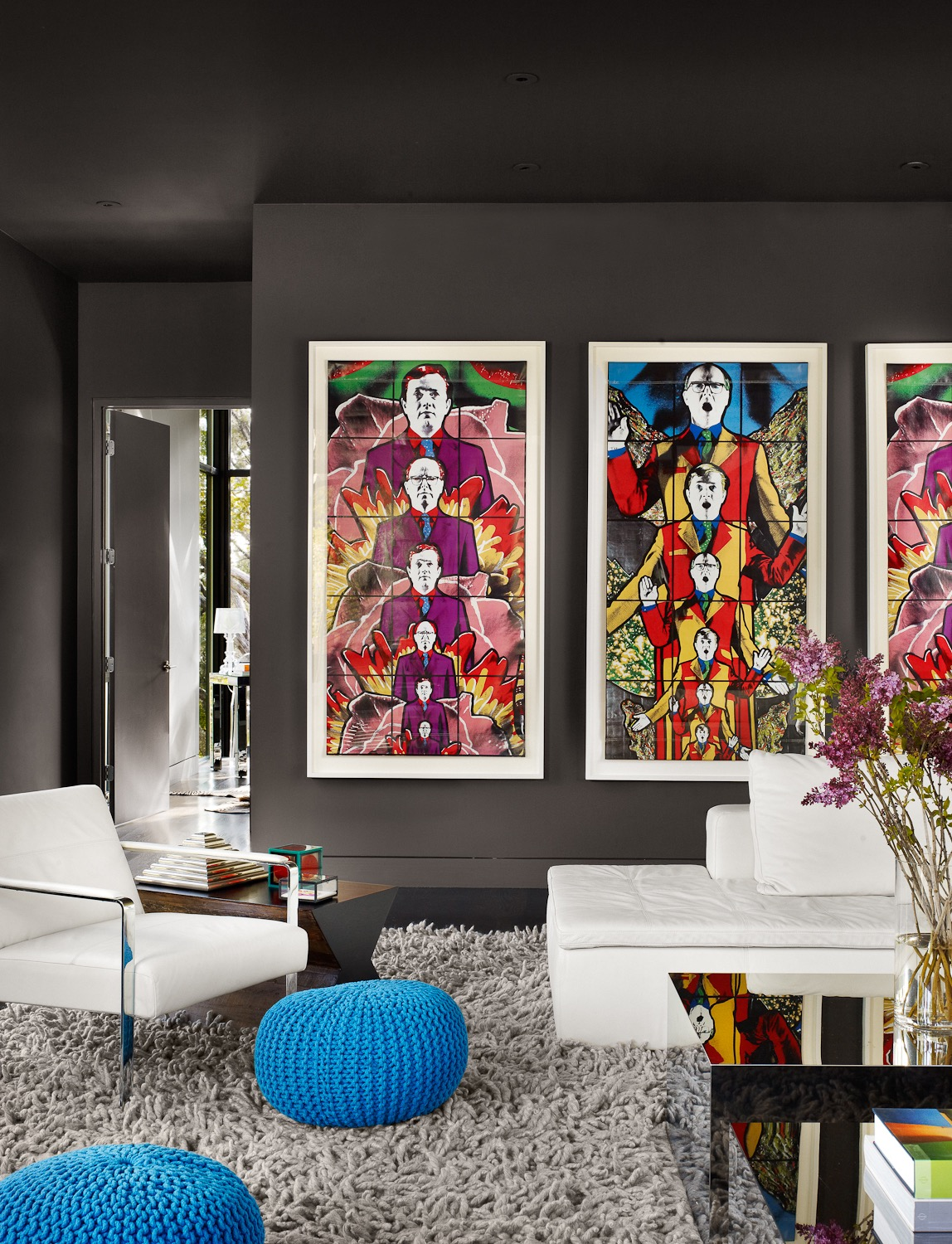 Vibrant Pop Art Wall Decor For Modern Living Room (Image 29 of 30)