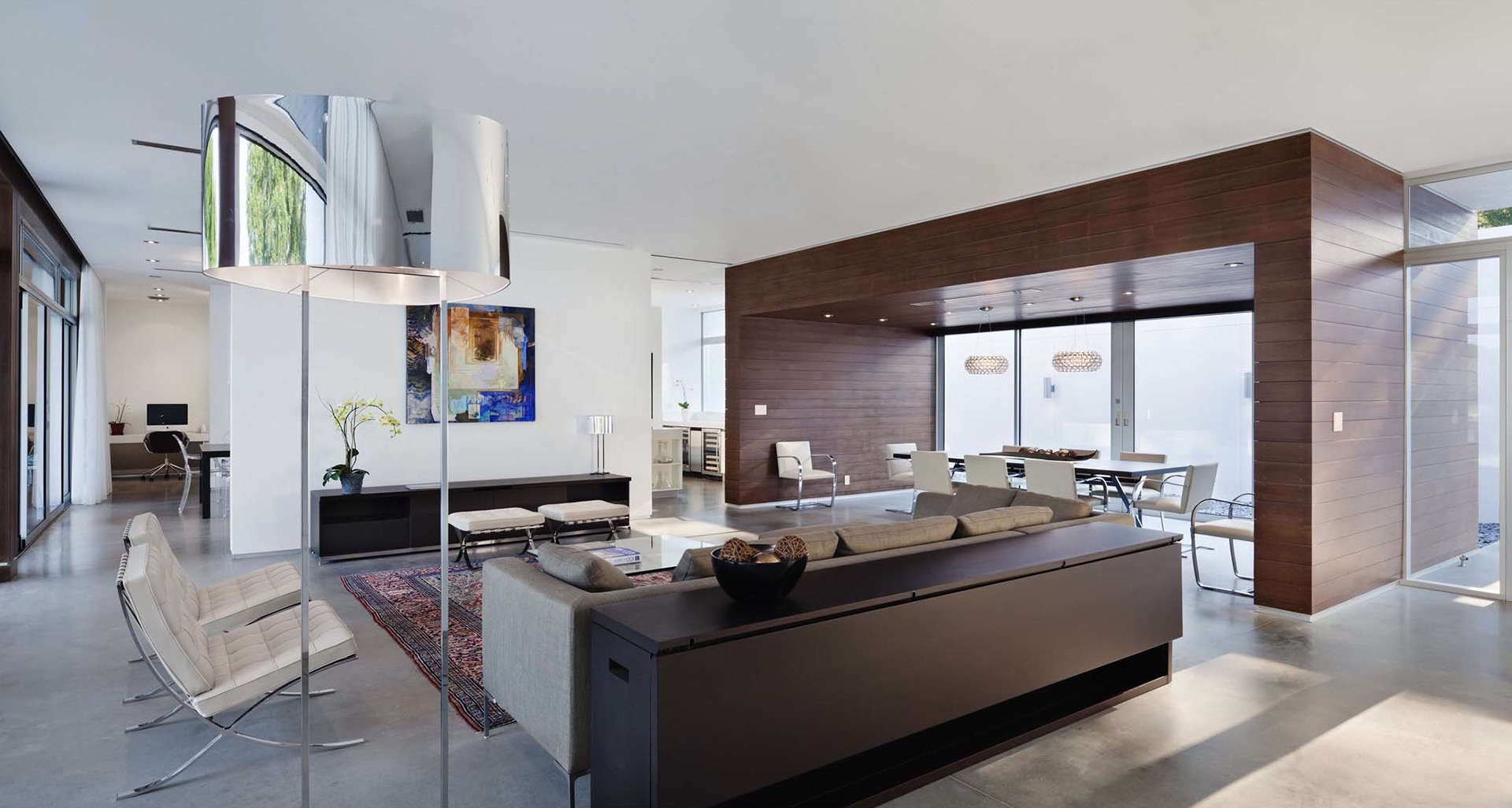 Awesome Contemporary Living Room For Luxury House (Image 1 of 31)