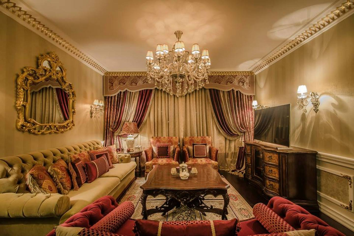 Classic Middle Eastern Living Room In Elegant Design (Image 1 of 15)
