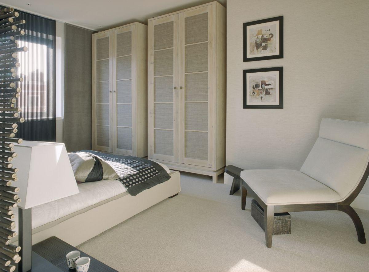 Contemporary Bedroom Wardrobe Cabinets Elegant Design (View 7 of 15)