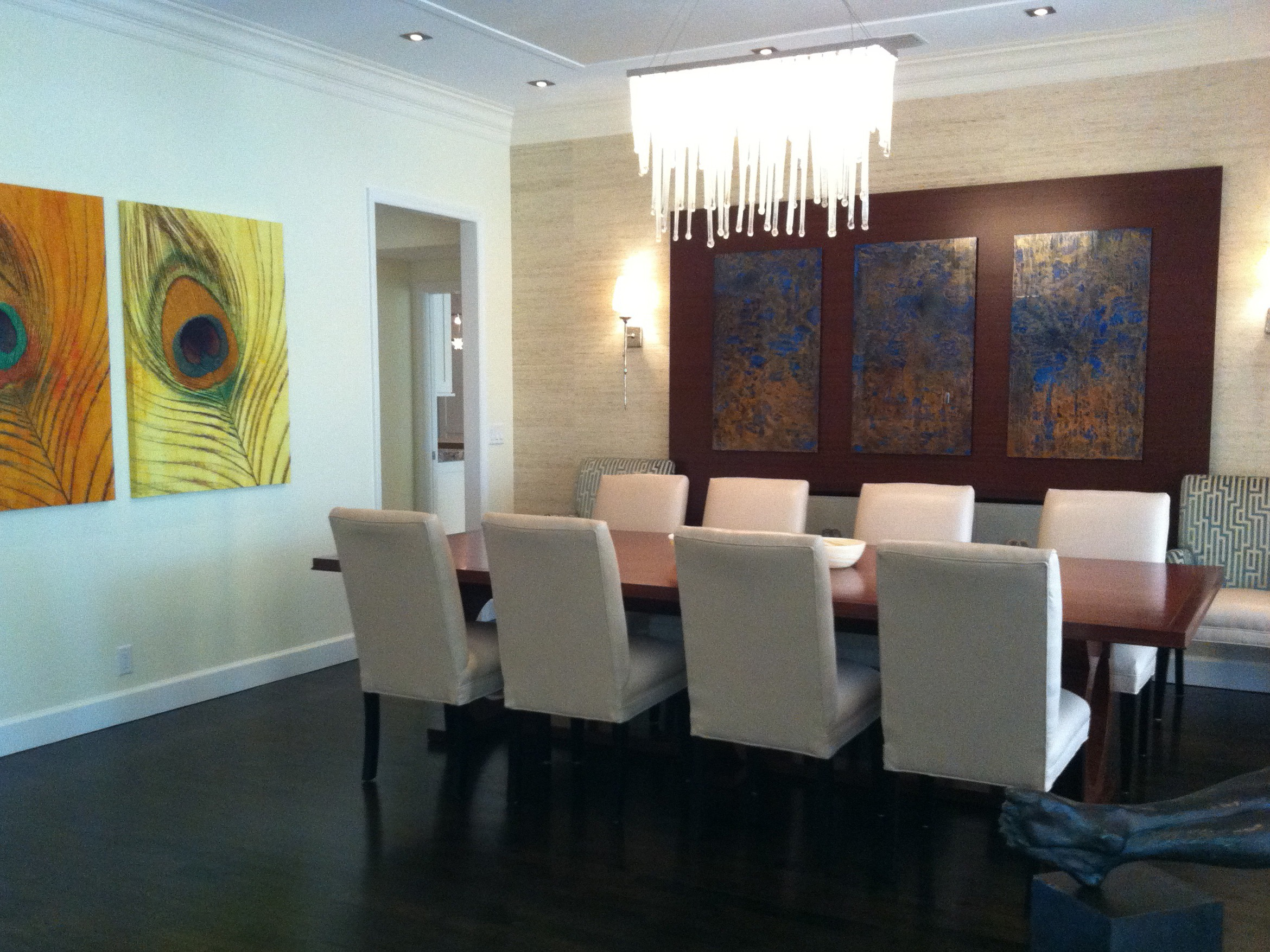 Contemporary Dining Room Furniture And Lighting (View 14 of 42)
