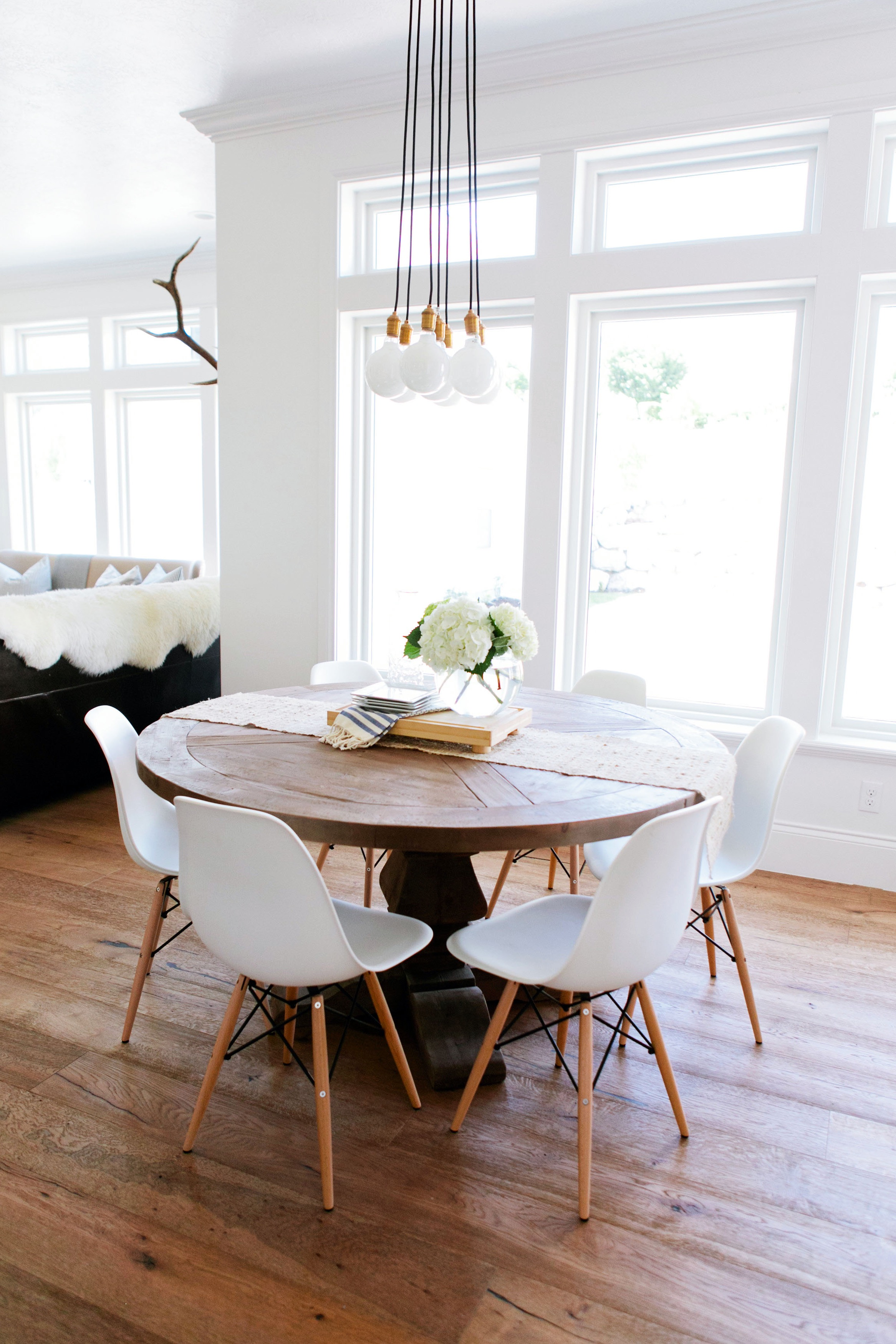 Cozy IKEA Dining Room Chairs With Wooden Table (Image 14 of 25)