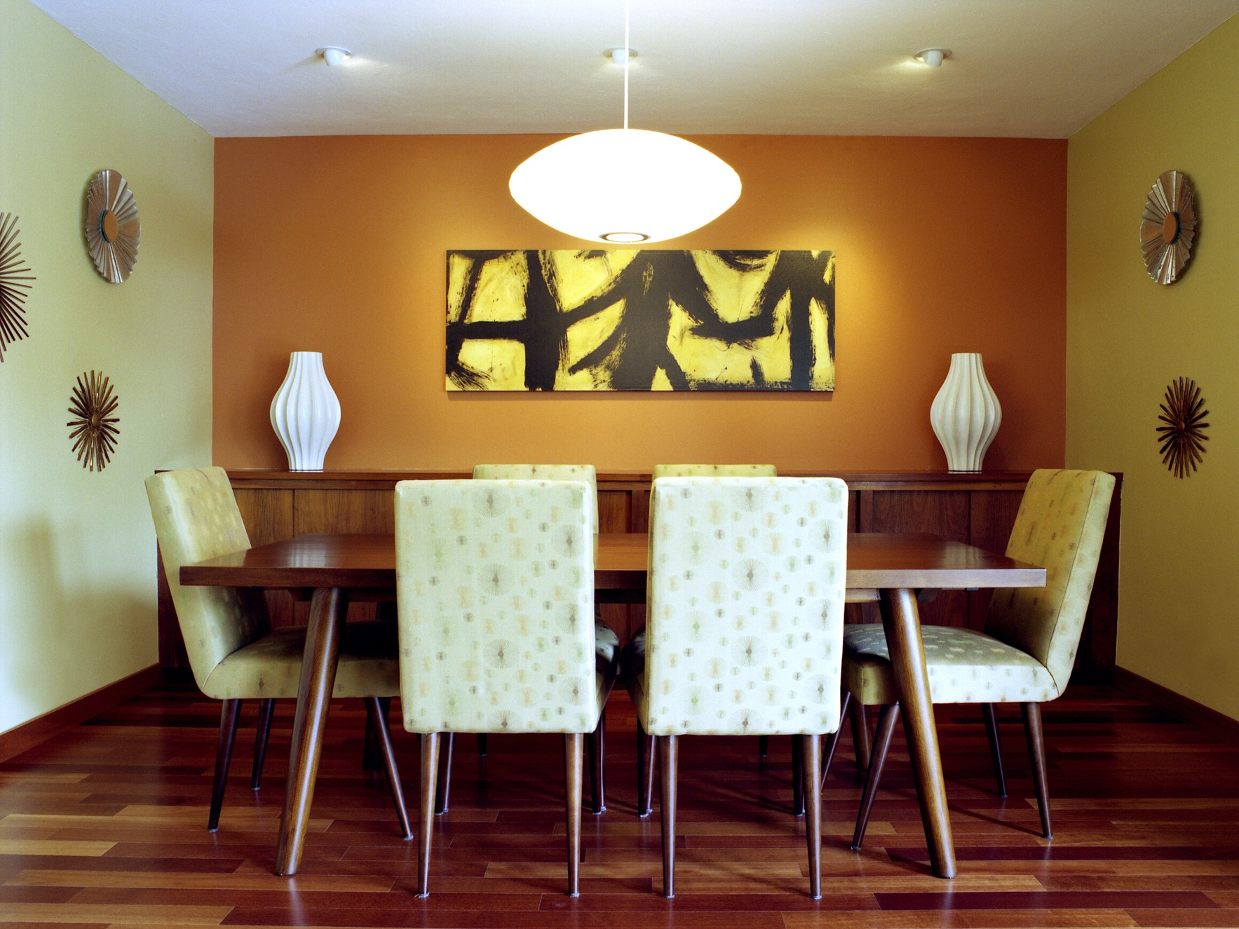 Cozy Modern Dining Room Decoration (Image 5 of 30)