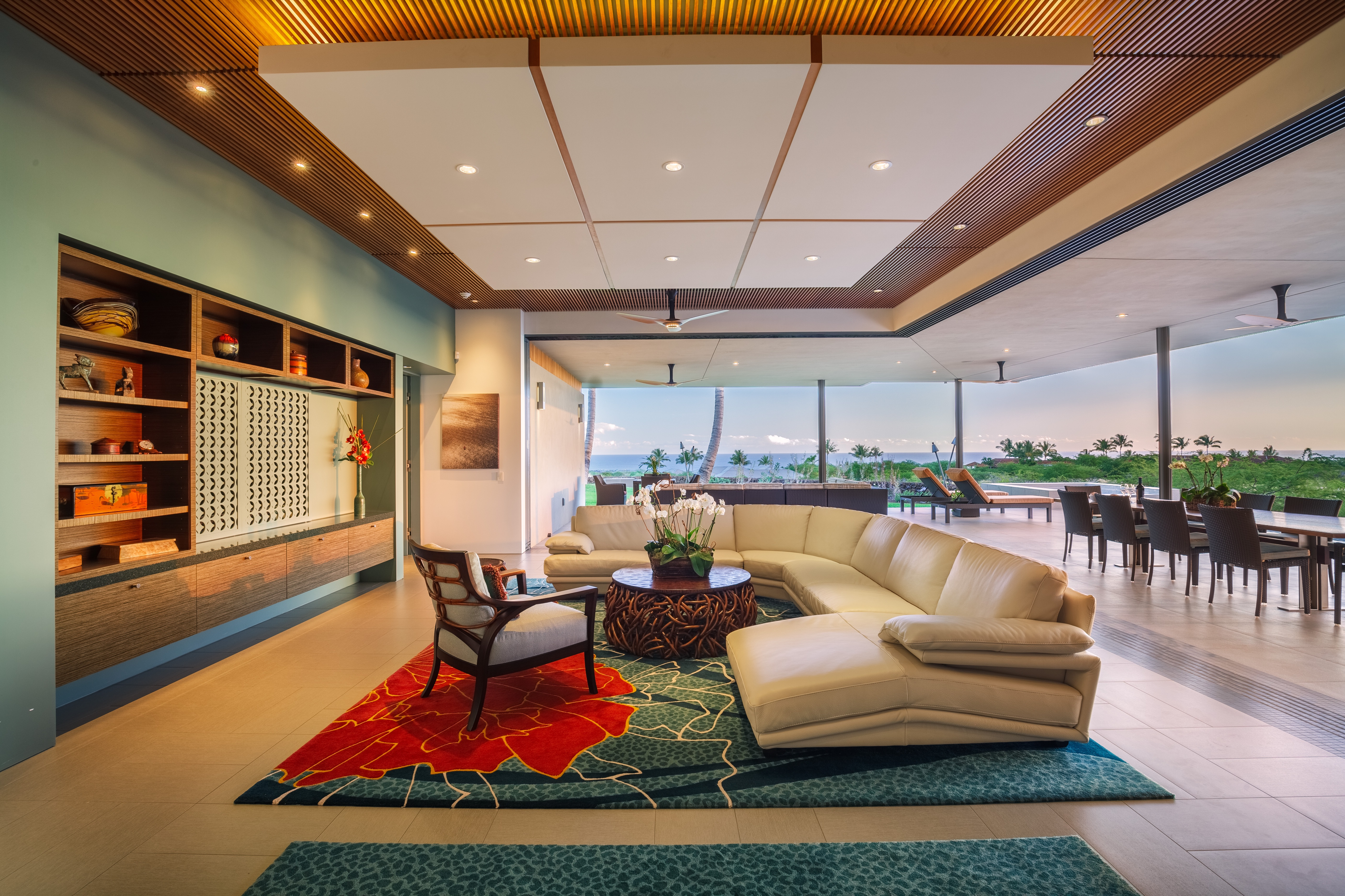 Drop Ceiling Ideas For Contemporary Living Room (Photo 3 of 4)