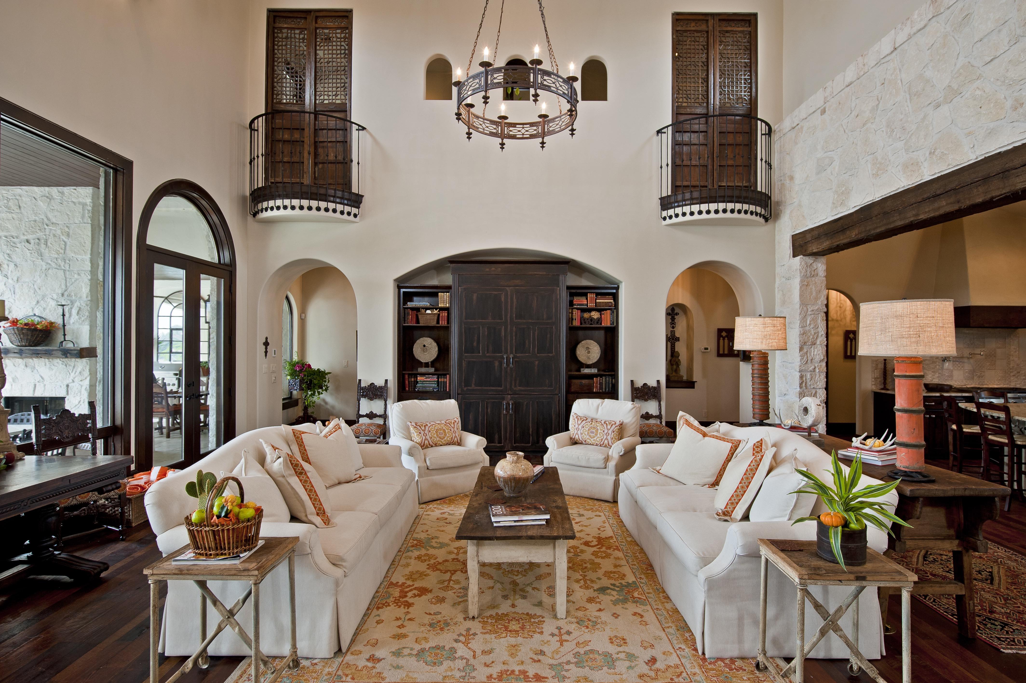 20 Elegant Italian Living Room Interior Designs #18461 ...