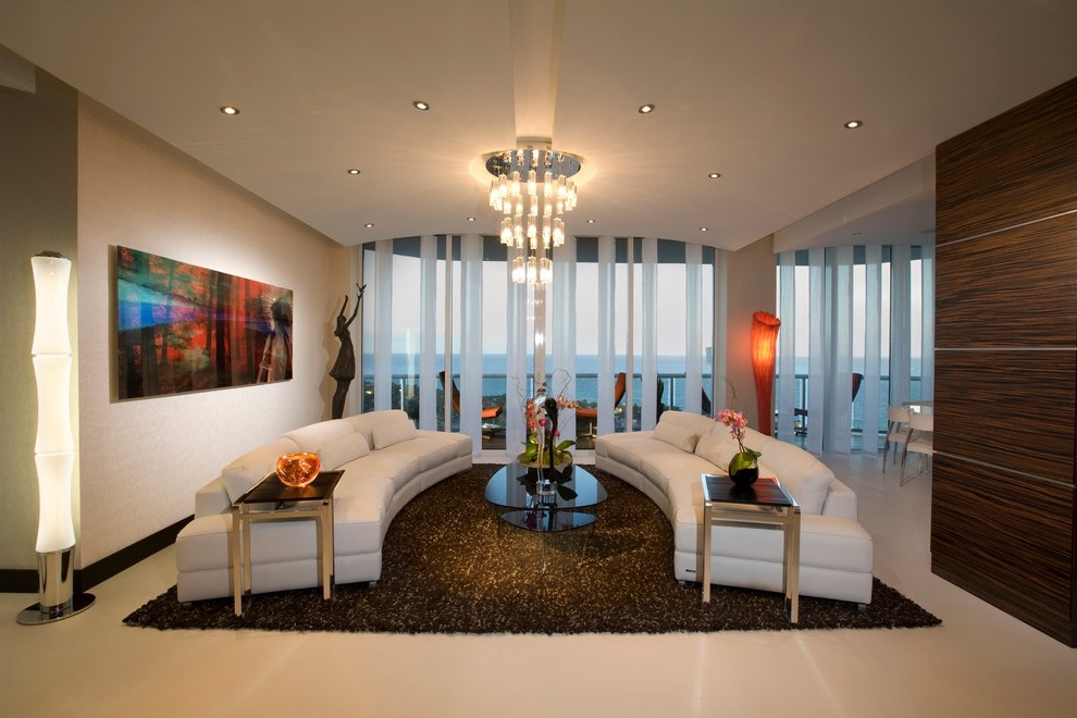 Luxury Apartment Living Room In Modern Design (Image 14 of 32)