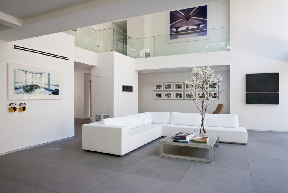 Luxury Modern Living Room With Minimalist Furnish (View 17 of 32)