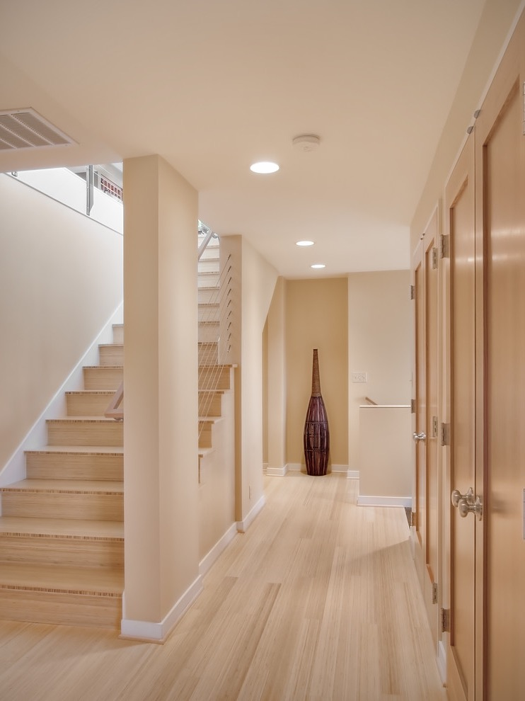 Modern Bamboo Flooring With Neutral Color (Image 13 of 20)