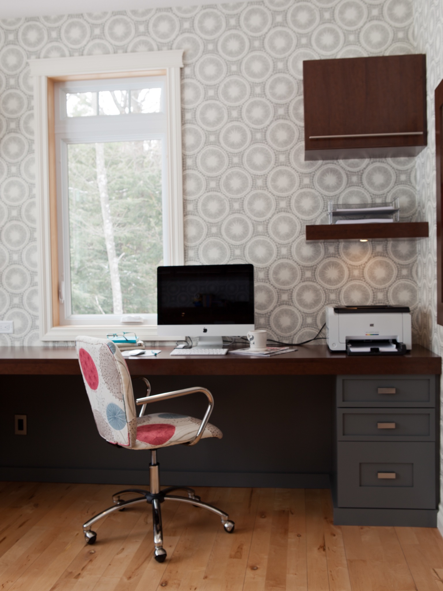 Modern Home Office Wallpaper Decoration (View 30 of 50)