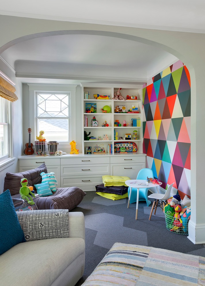 Modern Kids Playroom Decor For Apartment (Image 23 of 30)