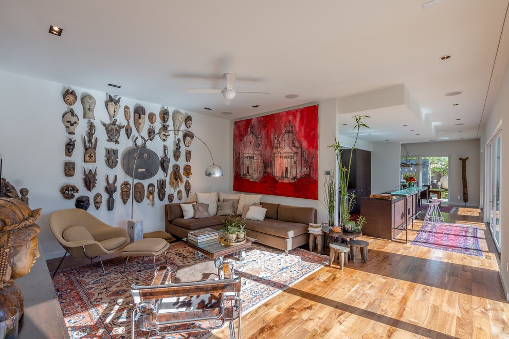 african themed interior for wild decor 17526 interior ideas 17526 | modern living room with tribal plaque and african masks decor
