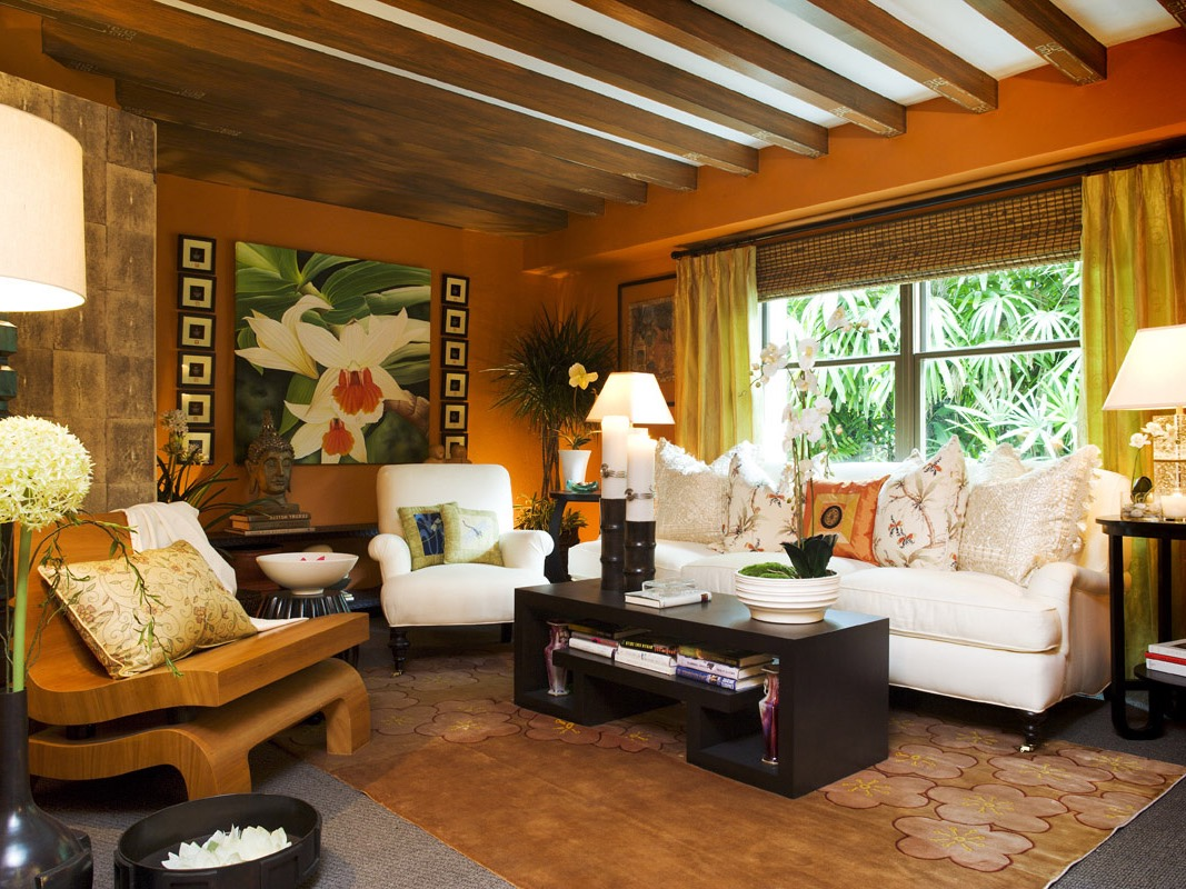 Traditional Living Room In Tropical Decoration (Image 20 of 30)