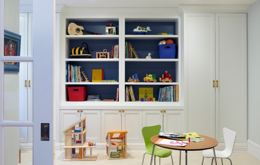 Wood Cabinets For Kids Playroom Decoration (Image 30 of 30)