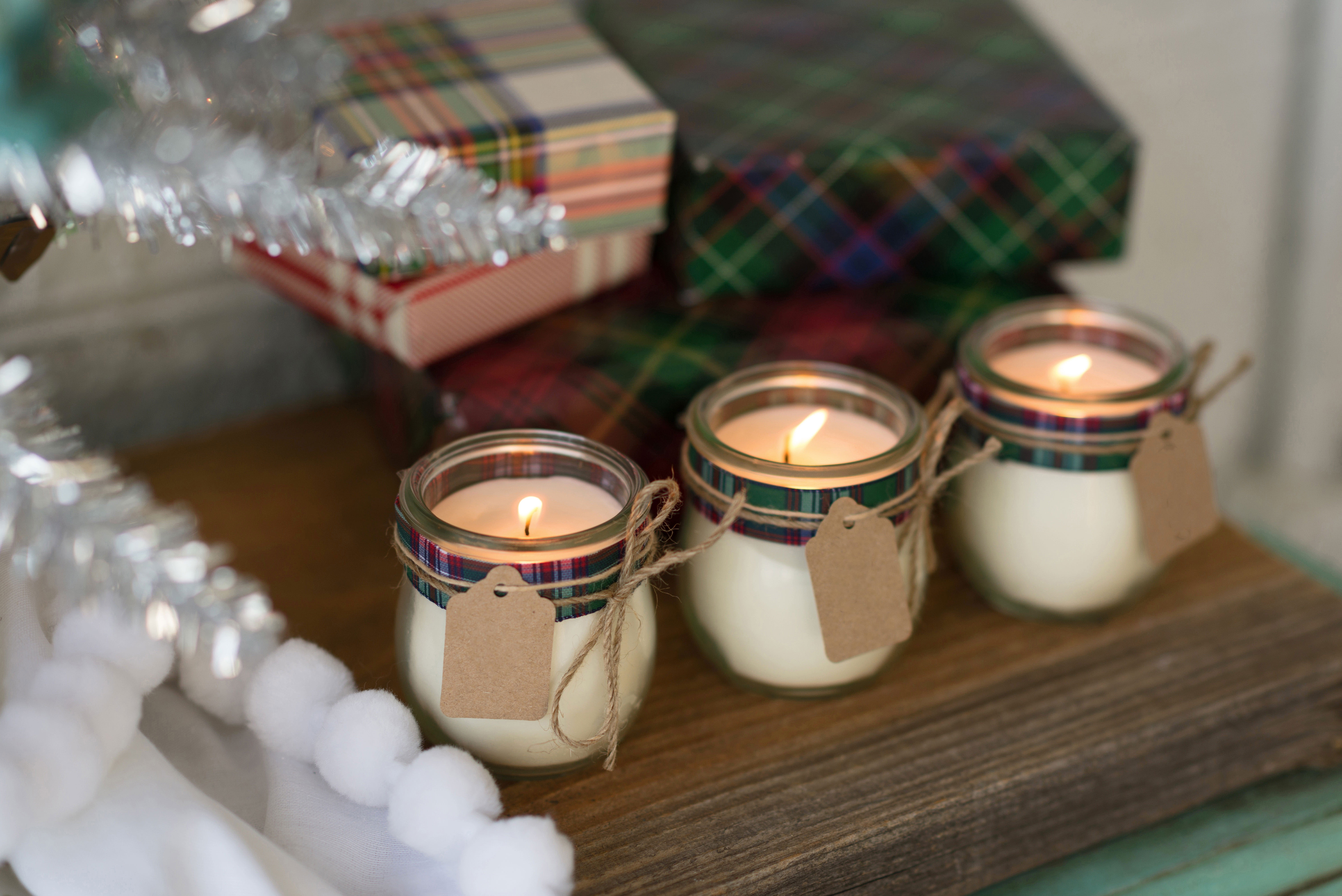 DIY Votive Oil Candles Centerpieces (Image 5 of 20)