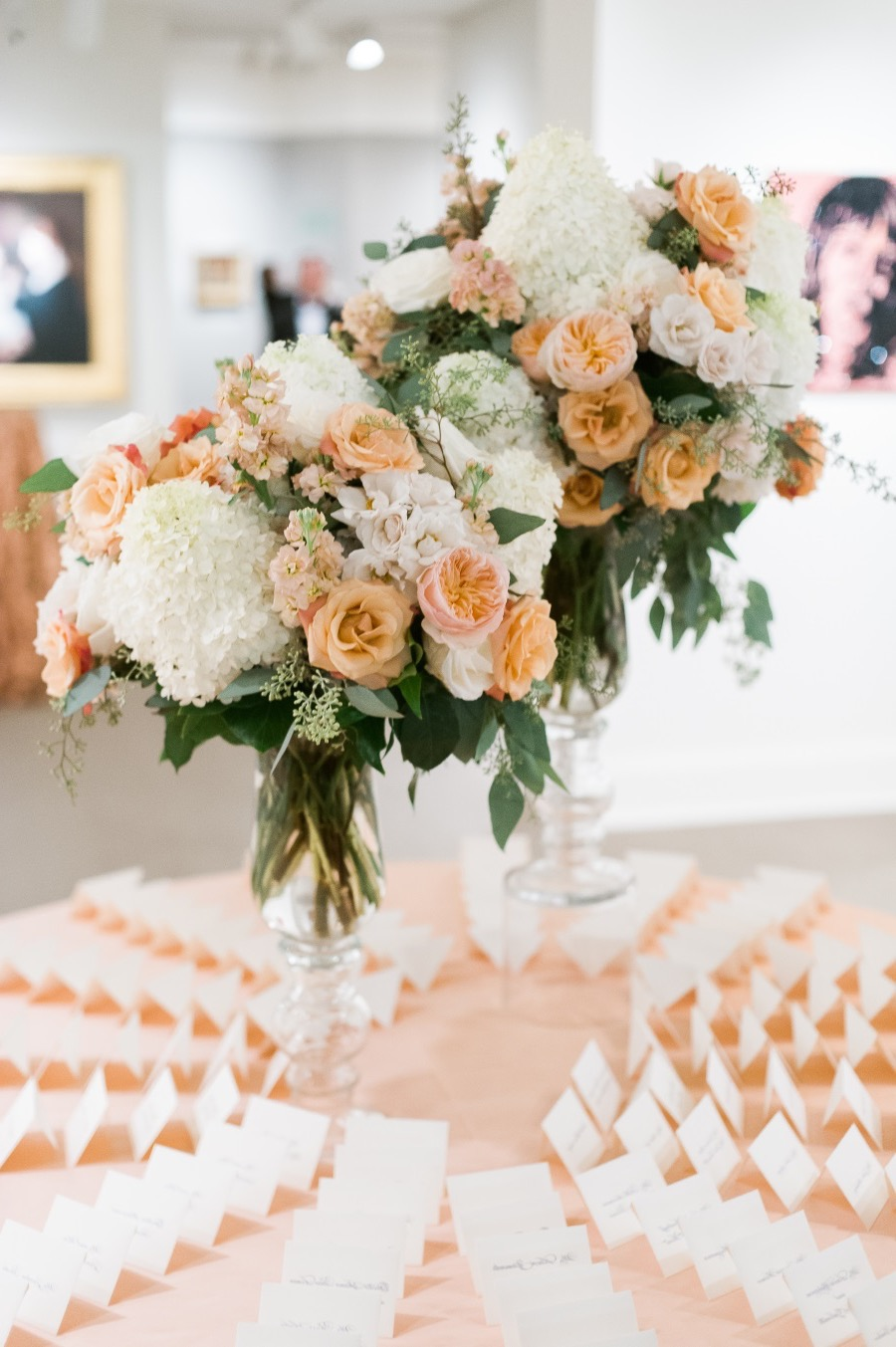 Elegant Summer Wedding Reception Centerpieces (Image 5 of 20)