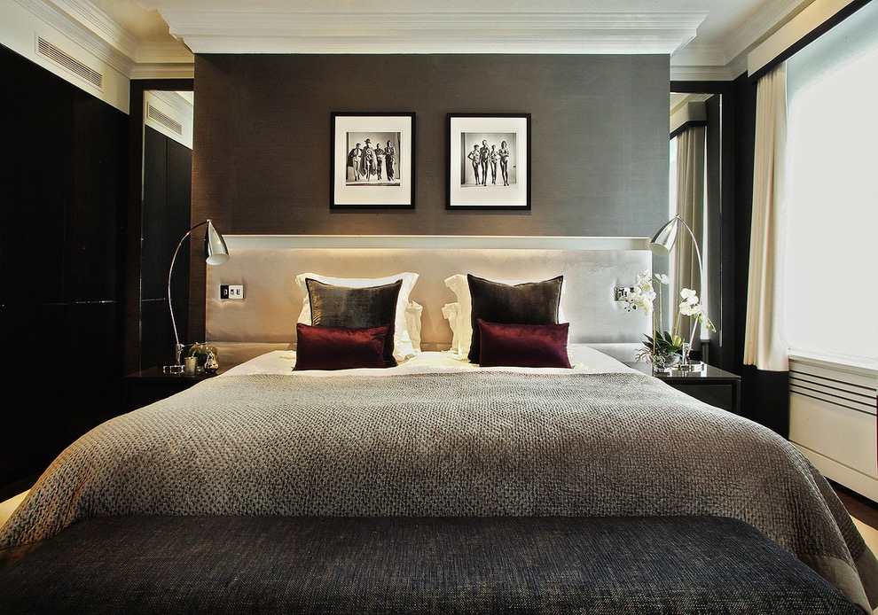 Hotel Style Bedroom In Contemporary Design (Image 16 of 25)