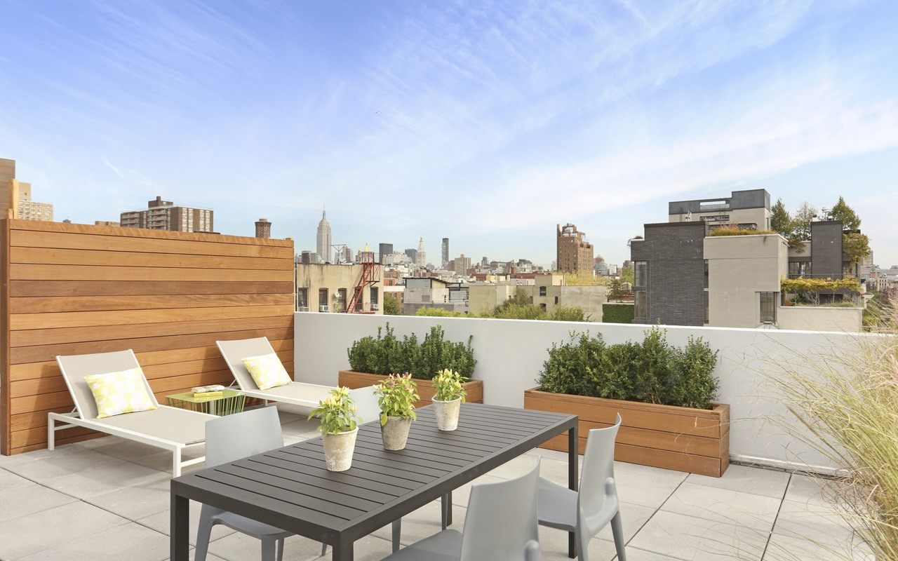 Minimalist Contemporary Furniture For Rooftop Patio Garden (Image 6 of 15)