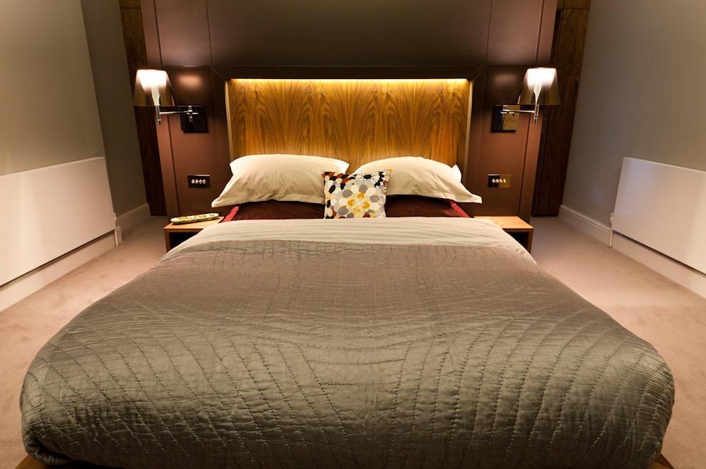 Contemporary Bedroom Design Hotel Inspired Interior (View 3 of 25)