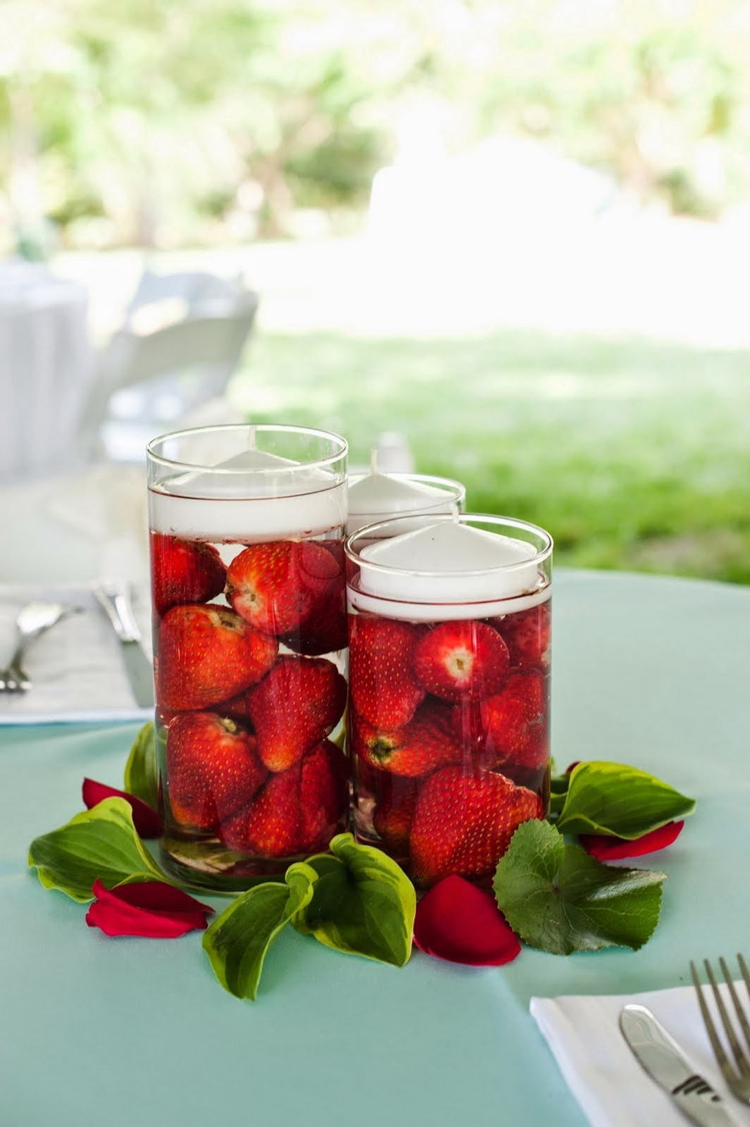 Low Budget Fruits Candle Centerpieces And Accessories For Wedding (Image 12 of 12)