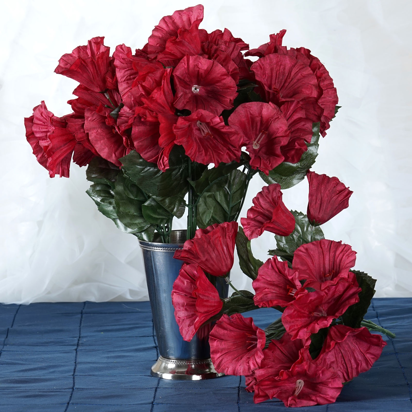 Red And Black Flower Centerpieces For Wedding (Image 4 of 15)