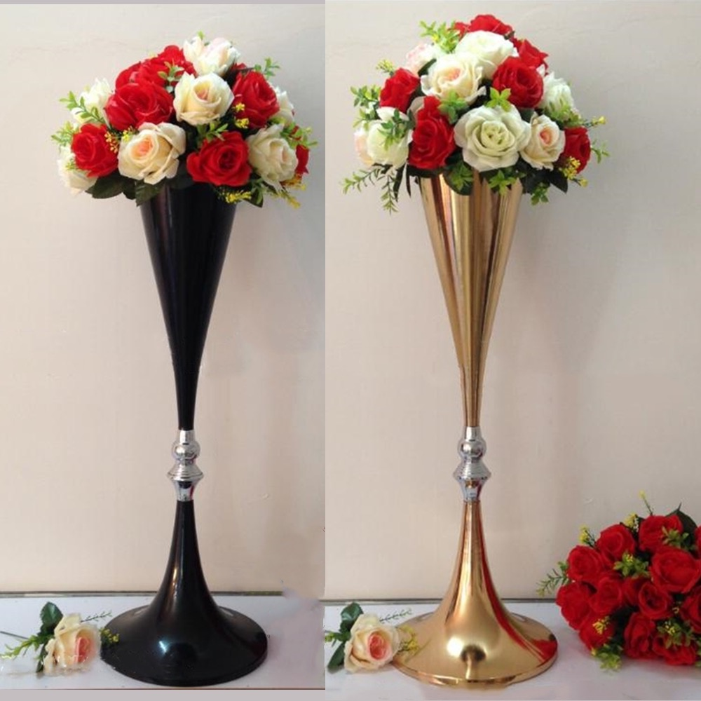 Red And Black Wedding Centerpieces (Image 6 of 15)
