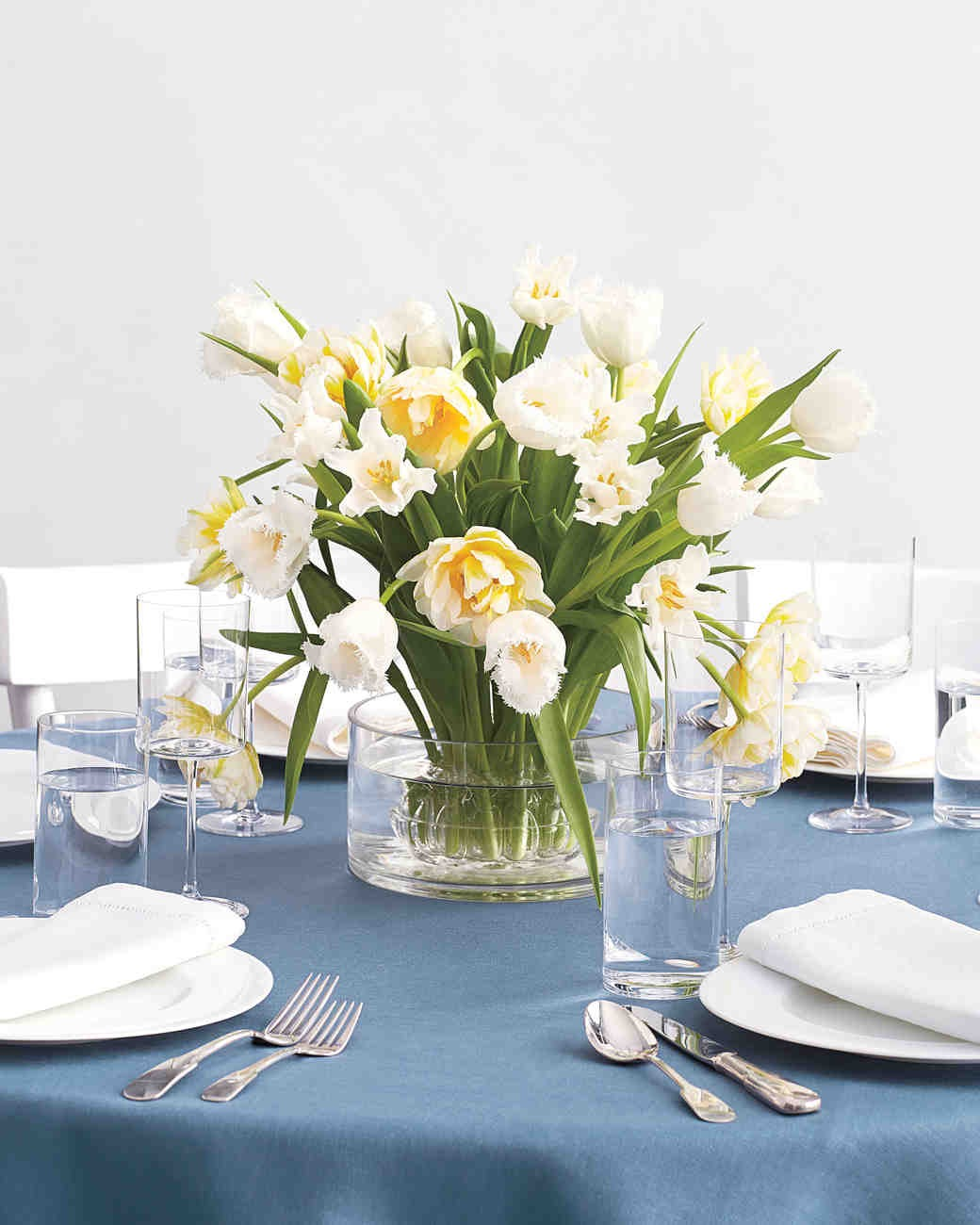 Summer Flowers Wedding Centerpieces For Round Table (Image 15 of 20)