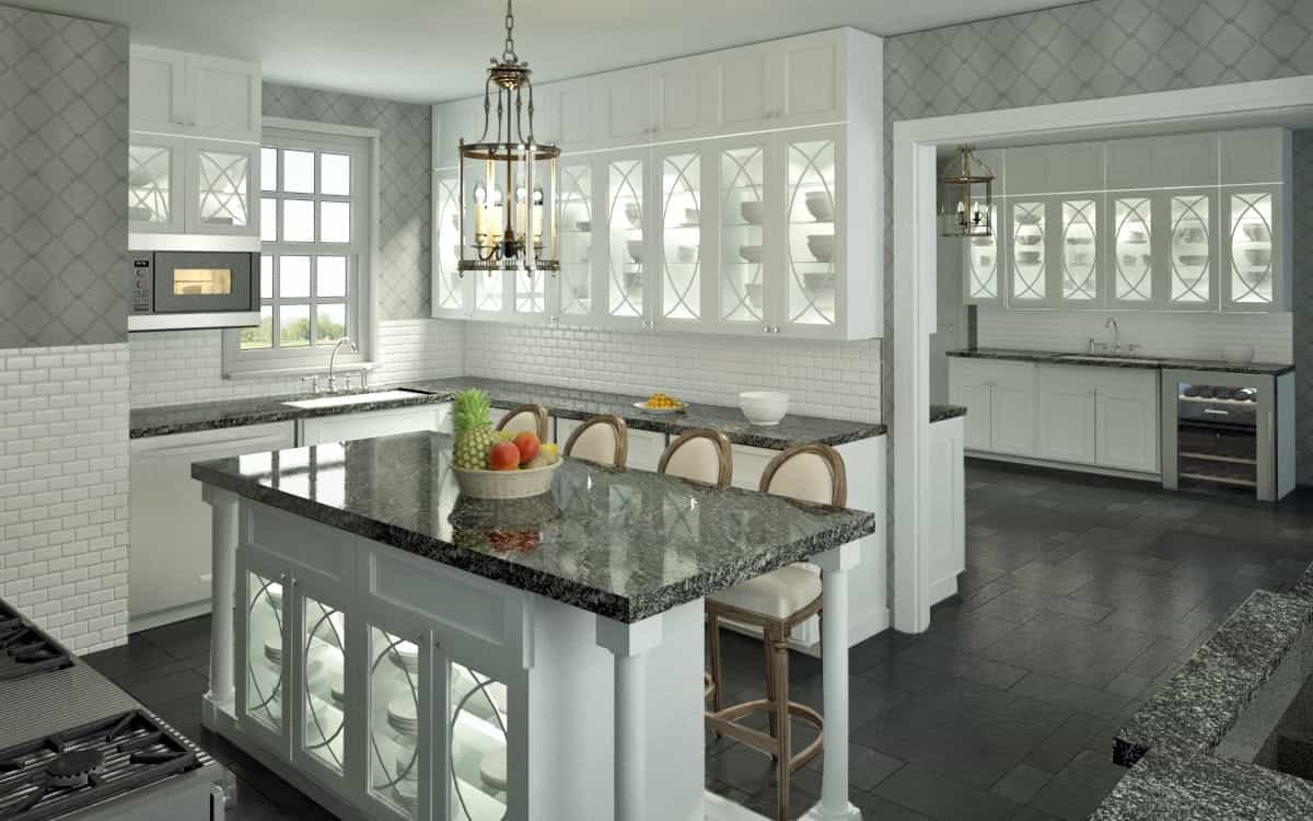 2017 Modern Kitchen With Minimalistic Cabinets Design (Image 4 of 26)