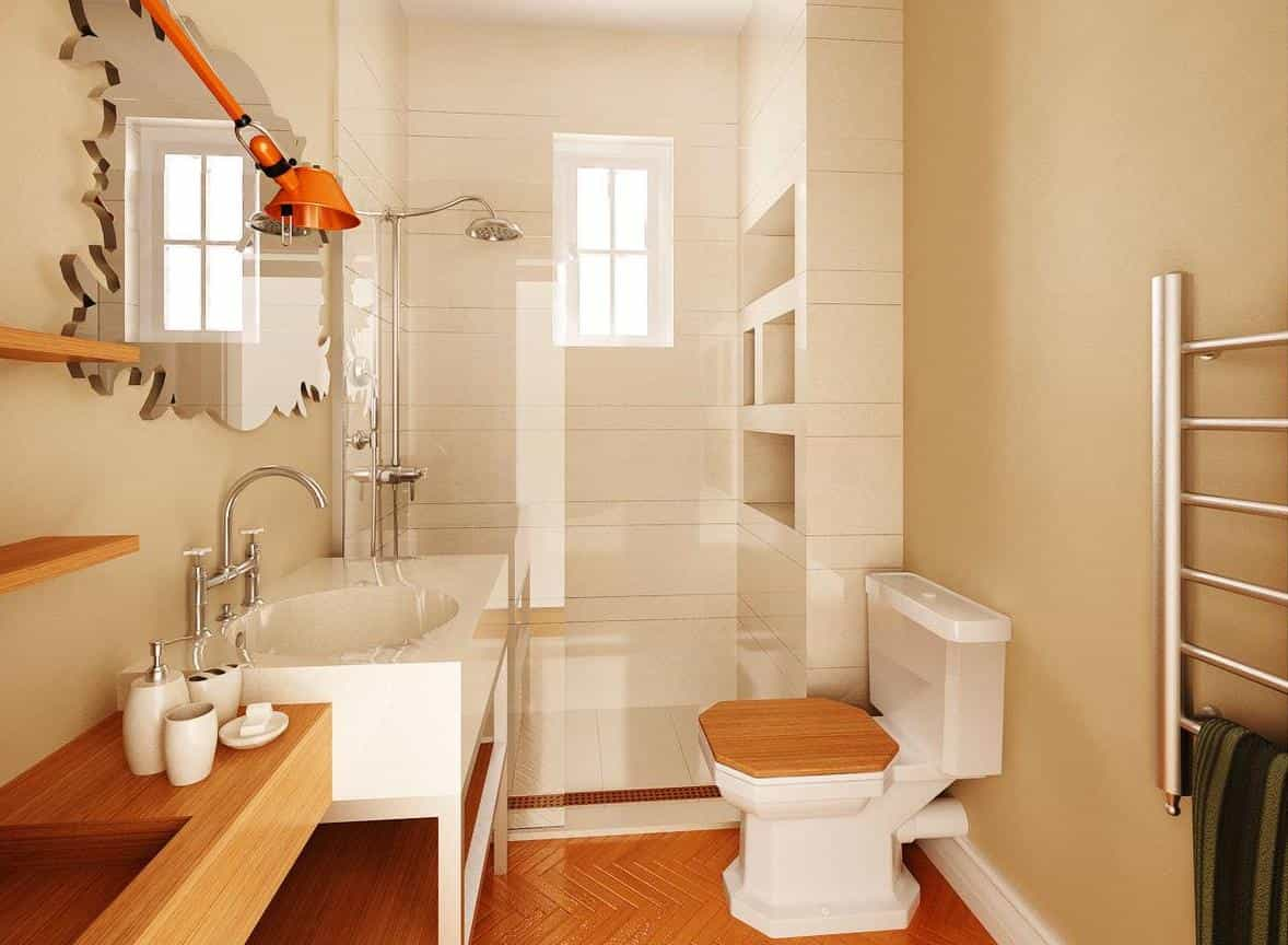 6×8 Bathroom Design: Furniture And Color For Small Space ...