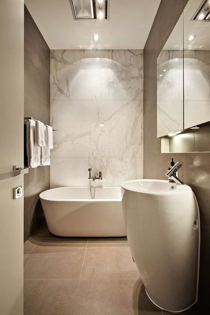 6×8 Modern Luxury Bathroom Interior (View 12 of 12)